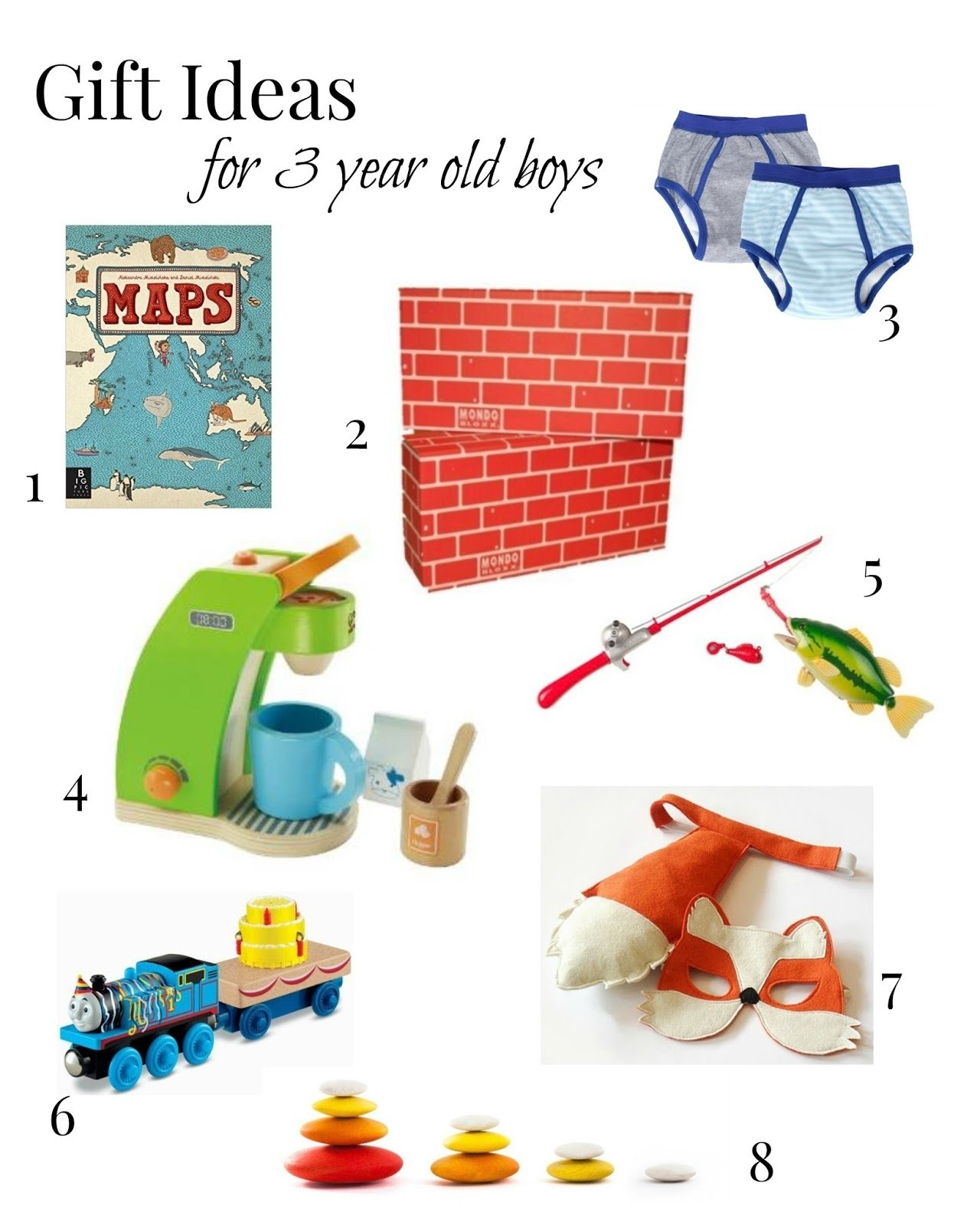 10 Famous Birthday Gift Ideas For 3 Year Old Boy