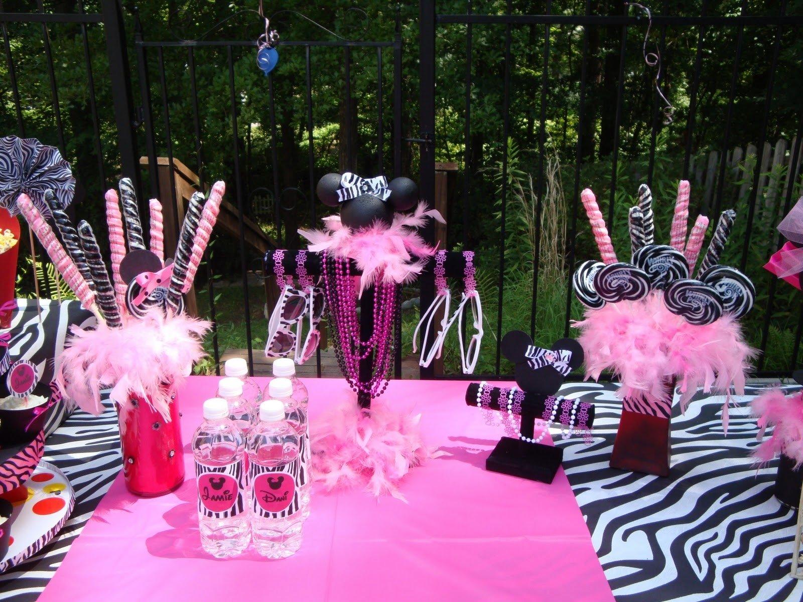 10 Spectacular Zebra Print Party Decoration Ideas pink zebra print party ideas the party people online magazine 2021