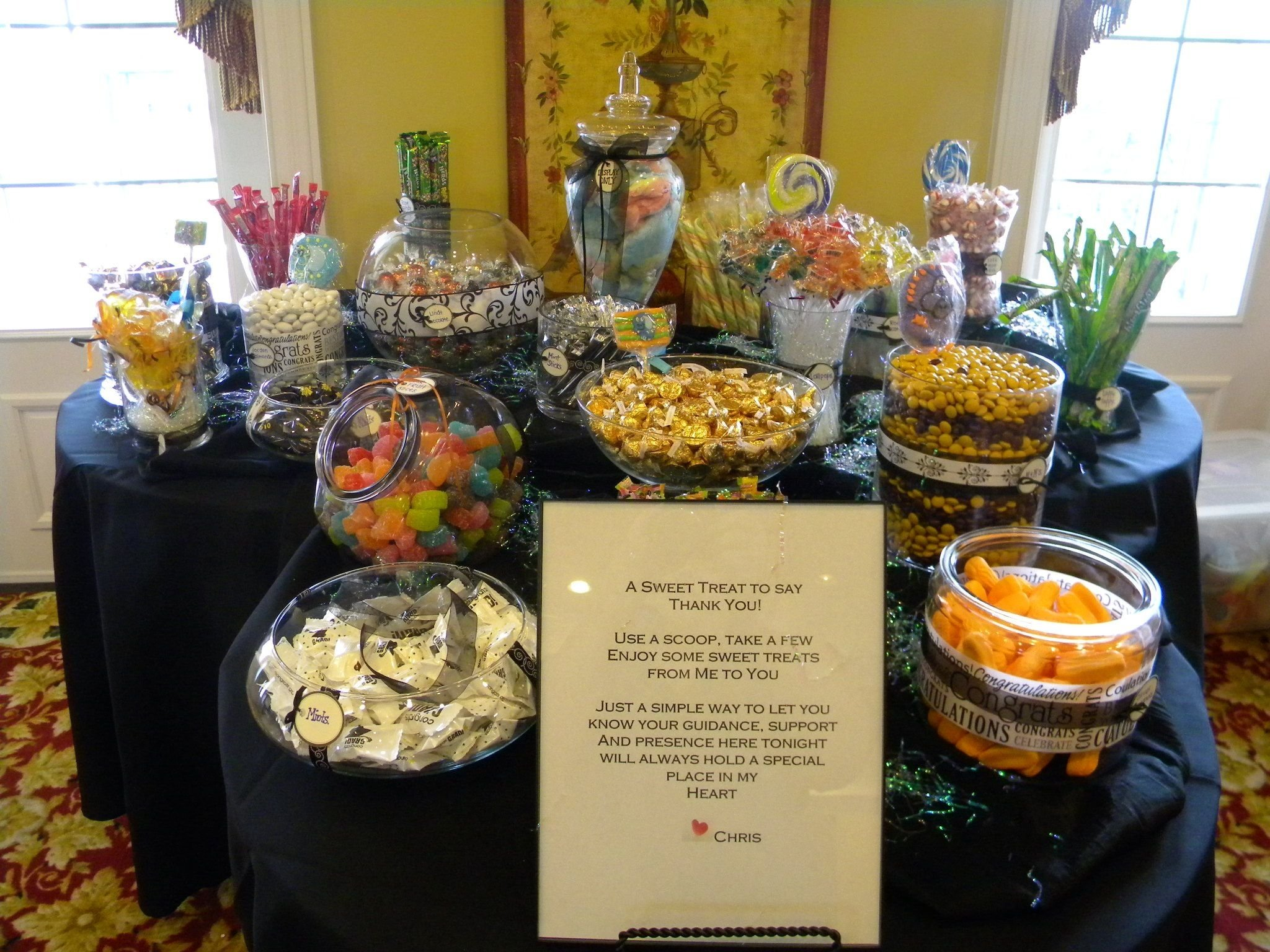 10 Stylish Graduation Open House Menu Ideas pinkim on candy bar pinterest candy bar party bar and 2 2021