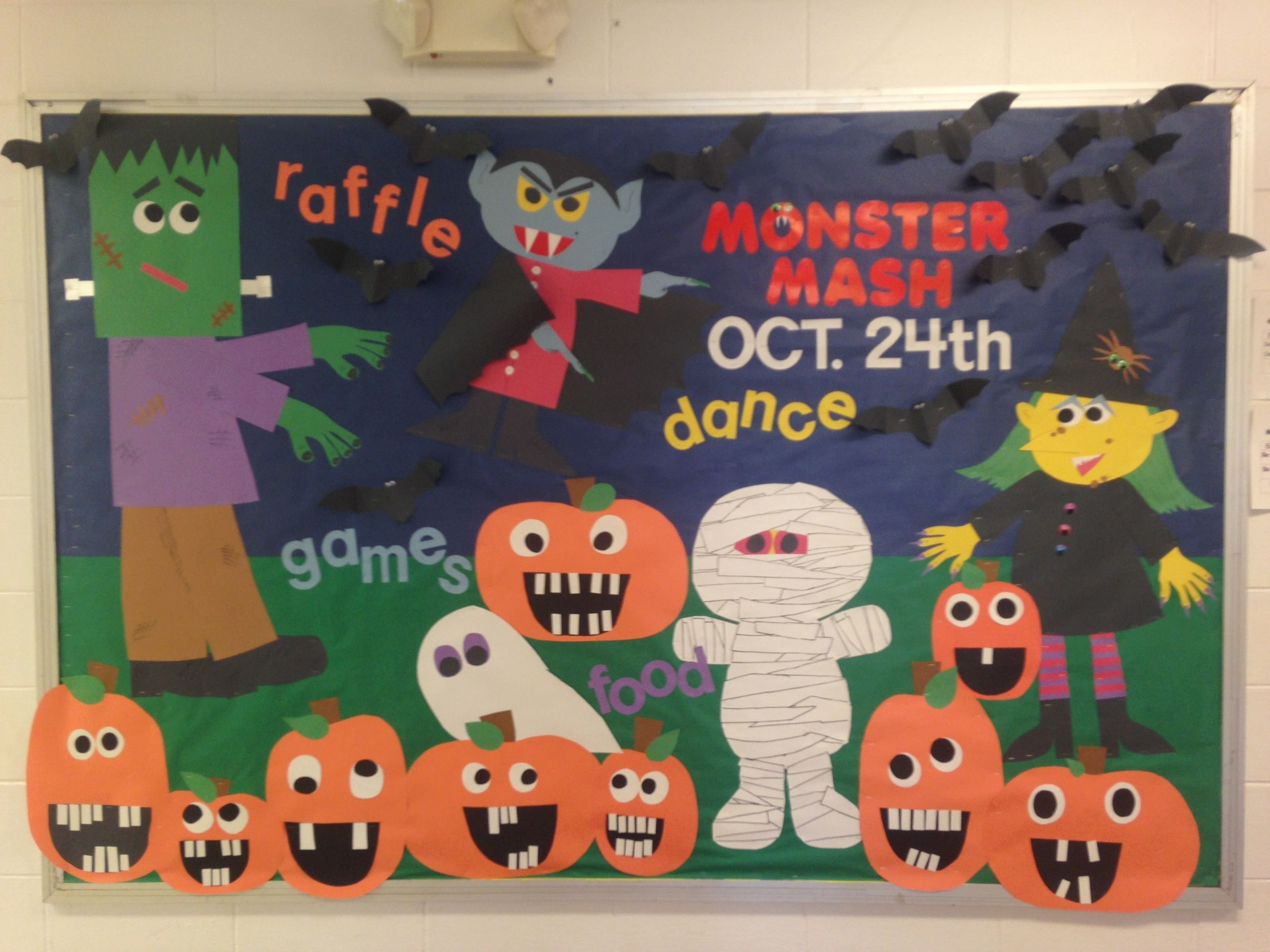 10 Pretty Halloween School Bulletin Board Ideas pinleslie byrne on bulletin boards pinterest activity board 2020