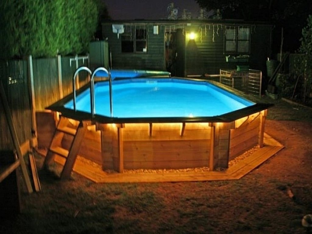 10 Stylish Pool Deck Ideas Above Ground pinmartina halaga on above ground pool pinterest walkways 1
