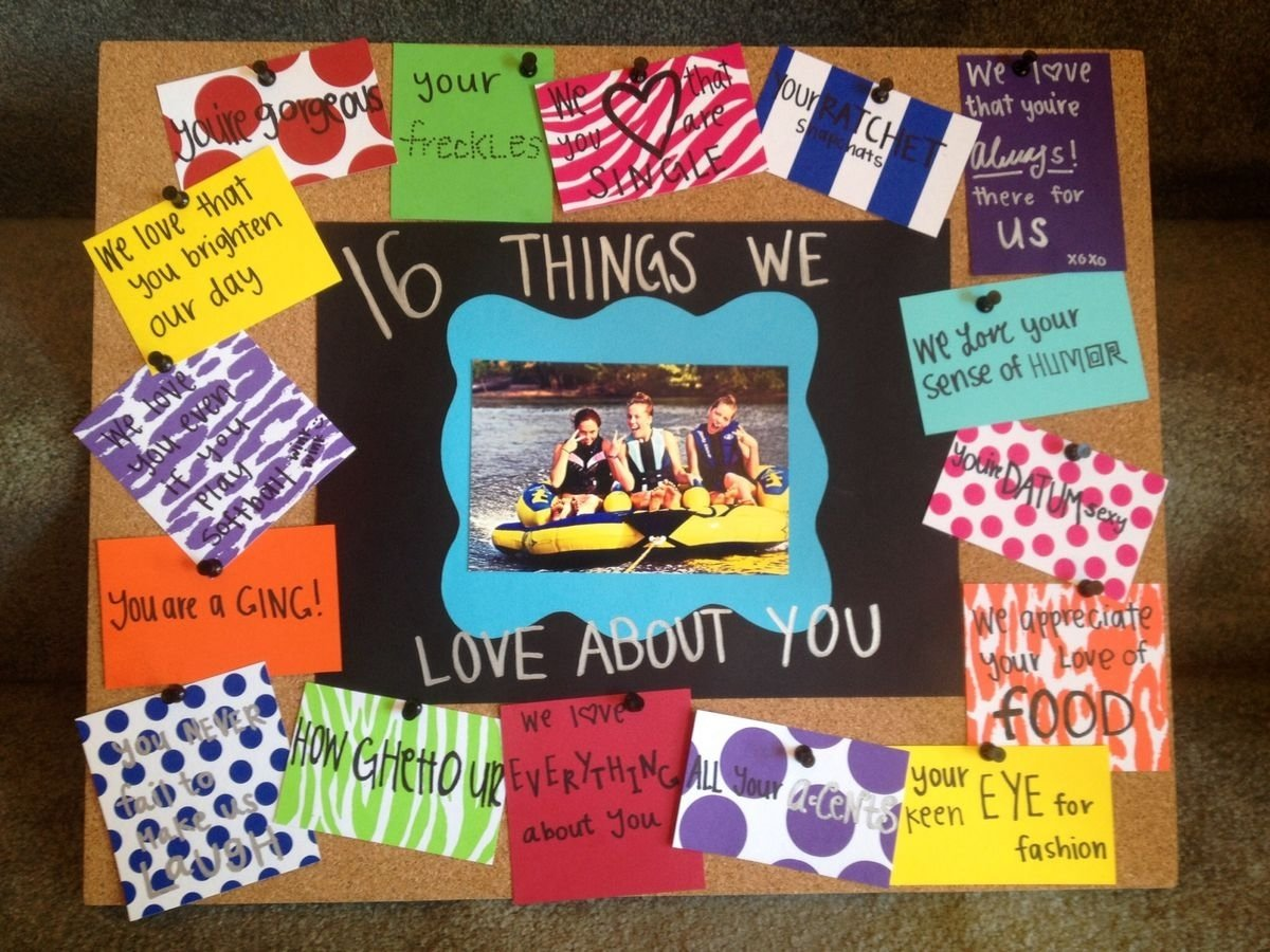 10 Amazing Birthday Ideas For A Friend pinmelissa judy on birthday pinterest sweet 16 birthdays