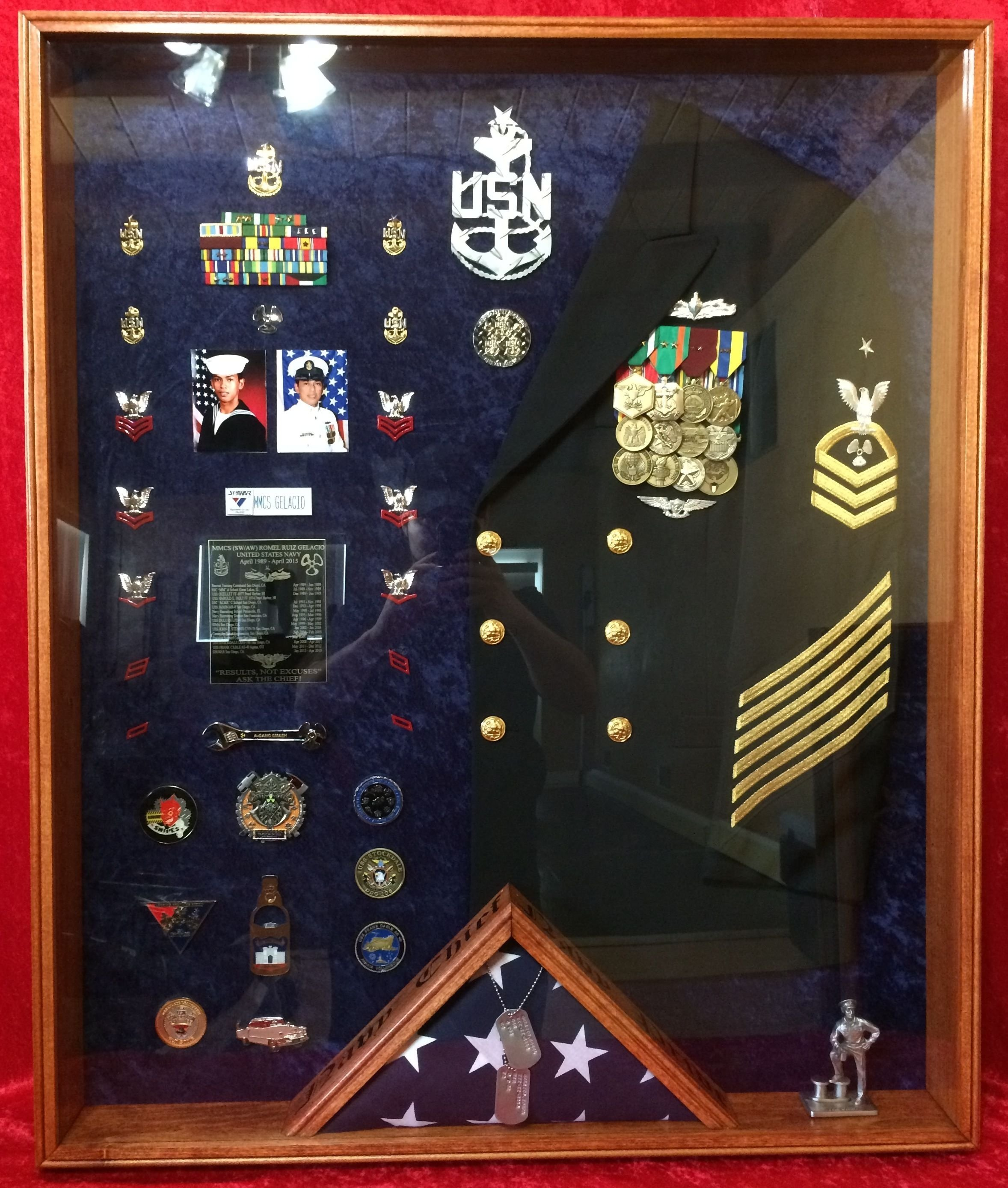 pinstinnett on coast guard | pinterest | shadow box, navy and box