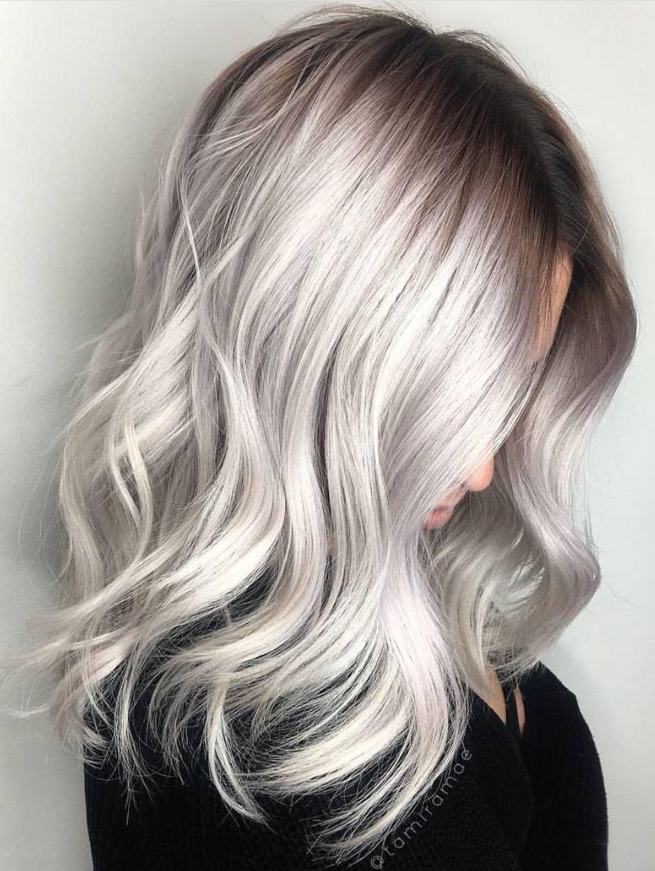 Pinterest Grey Hair Color Ideas Topsimages