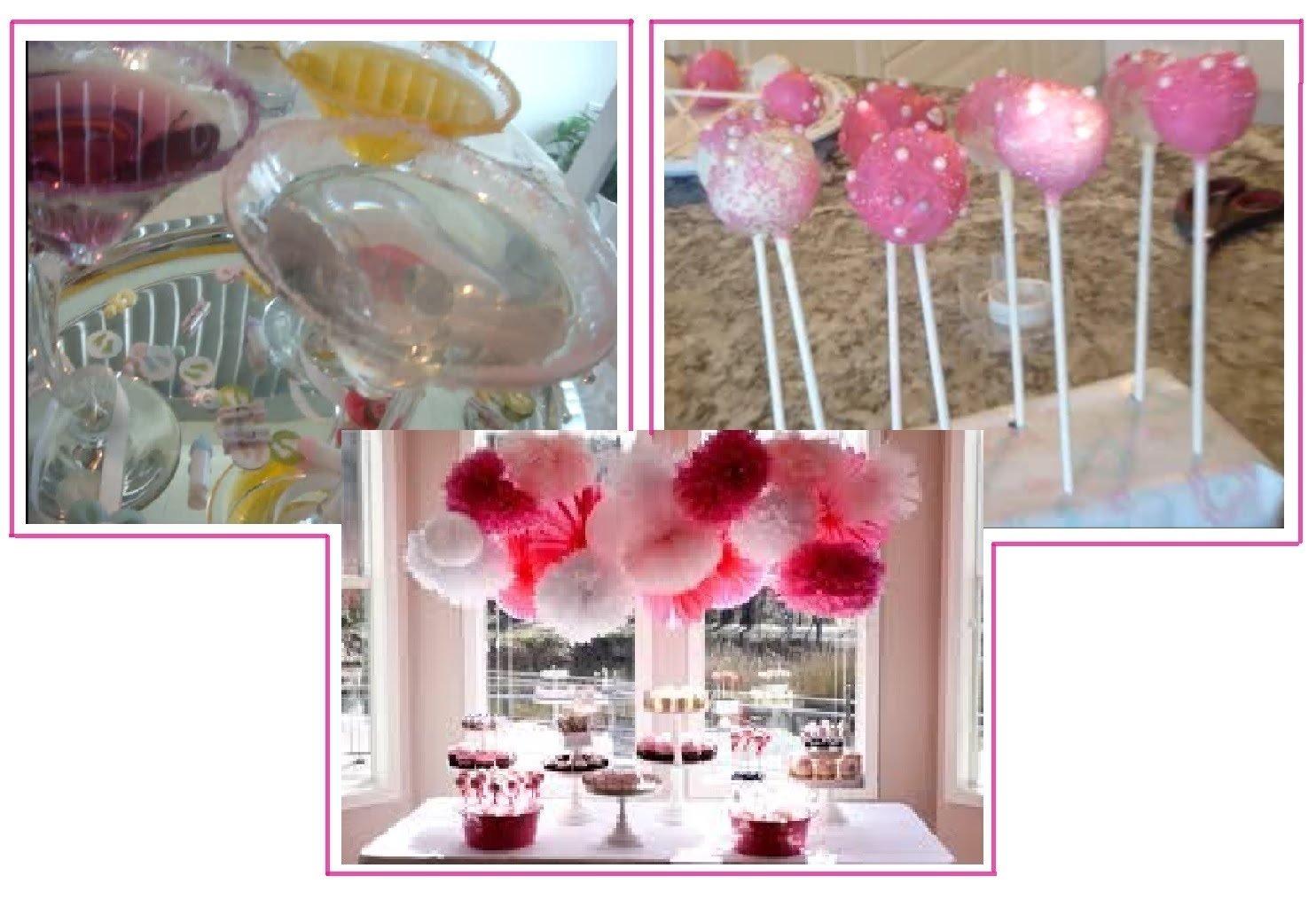 10 Lovable Bridal Shower Ideas On Pinterest pinterest ideas diy bridal shower baby shower party ideas youtube 2020