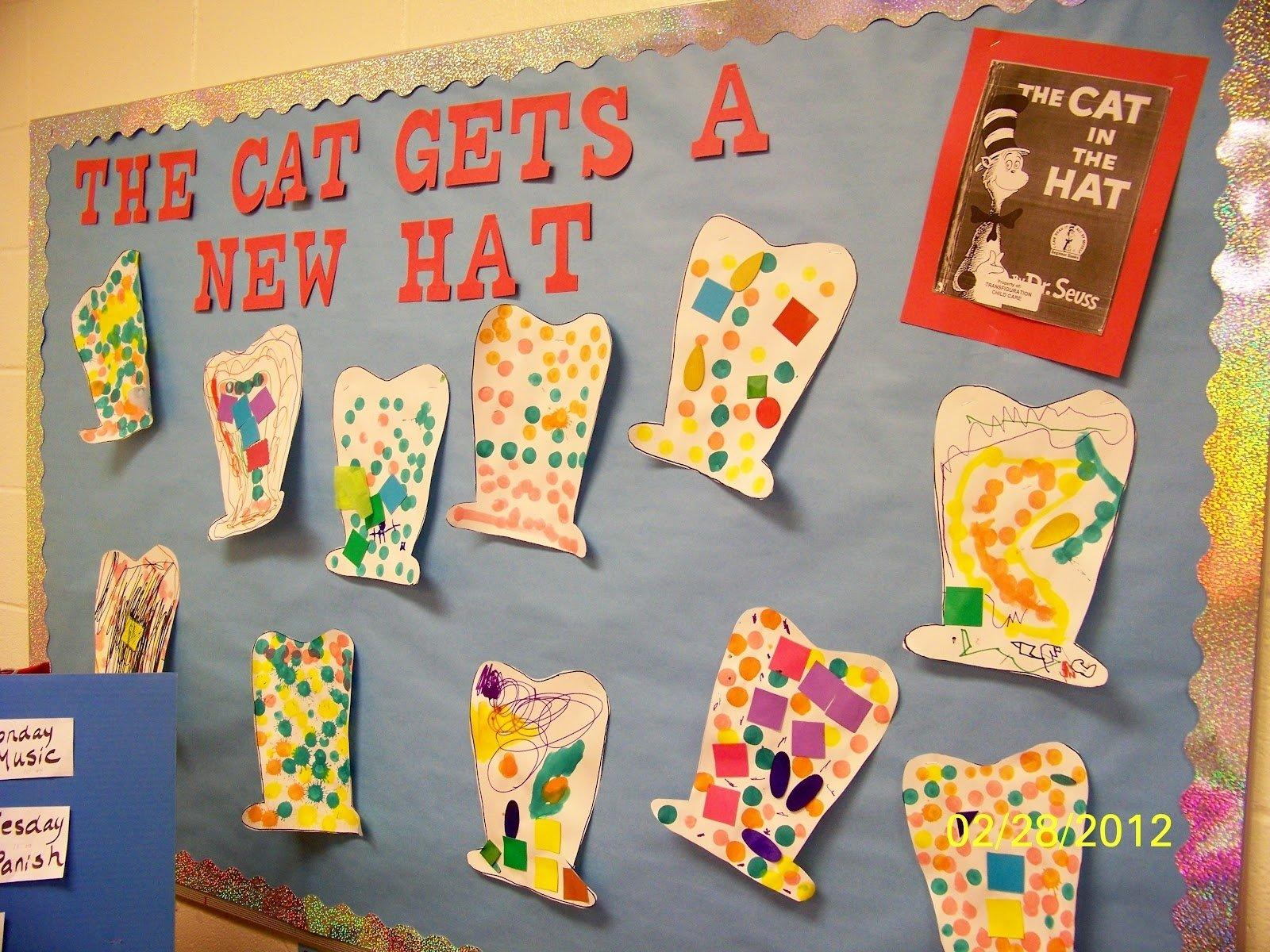 10 Best Dr. Seuss Bulletin Board Ideas For Kindergarten pinterest preschool ideas google search bulletin boards 2021