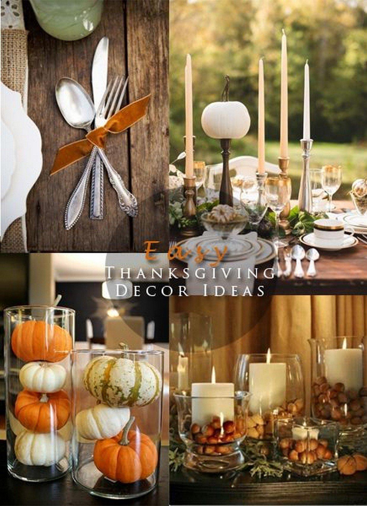 10 Stylish Thanksgiving Table Setting Ideas Pinterest 2019