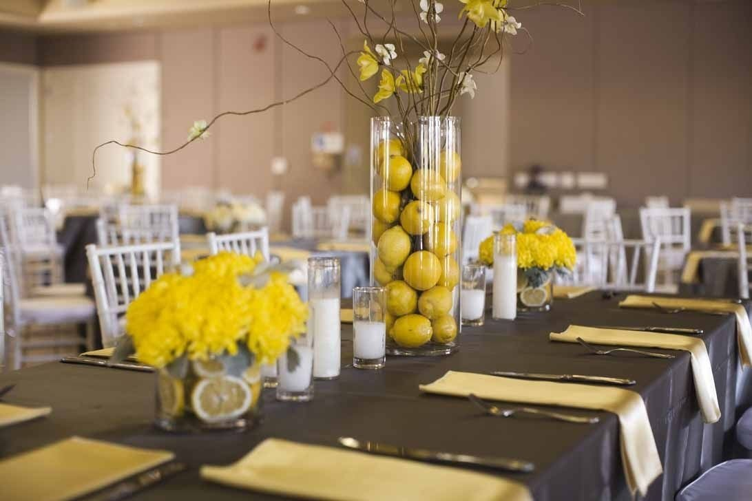 10 Cute Yellow And Gray Wedding Ideas pinwedding fanatic on wedding shower pinterest yellow 1