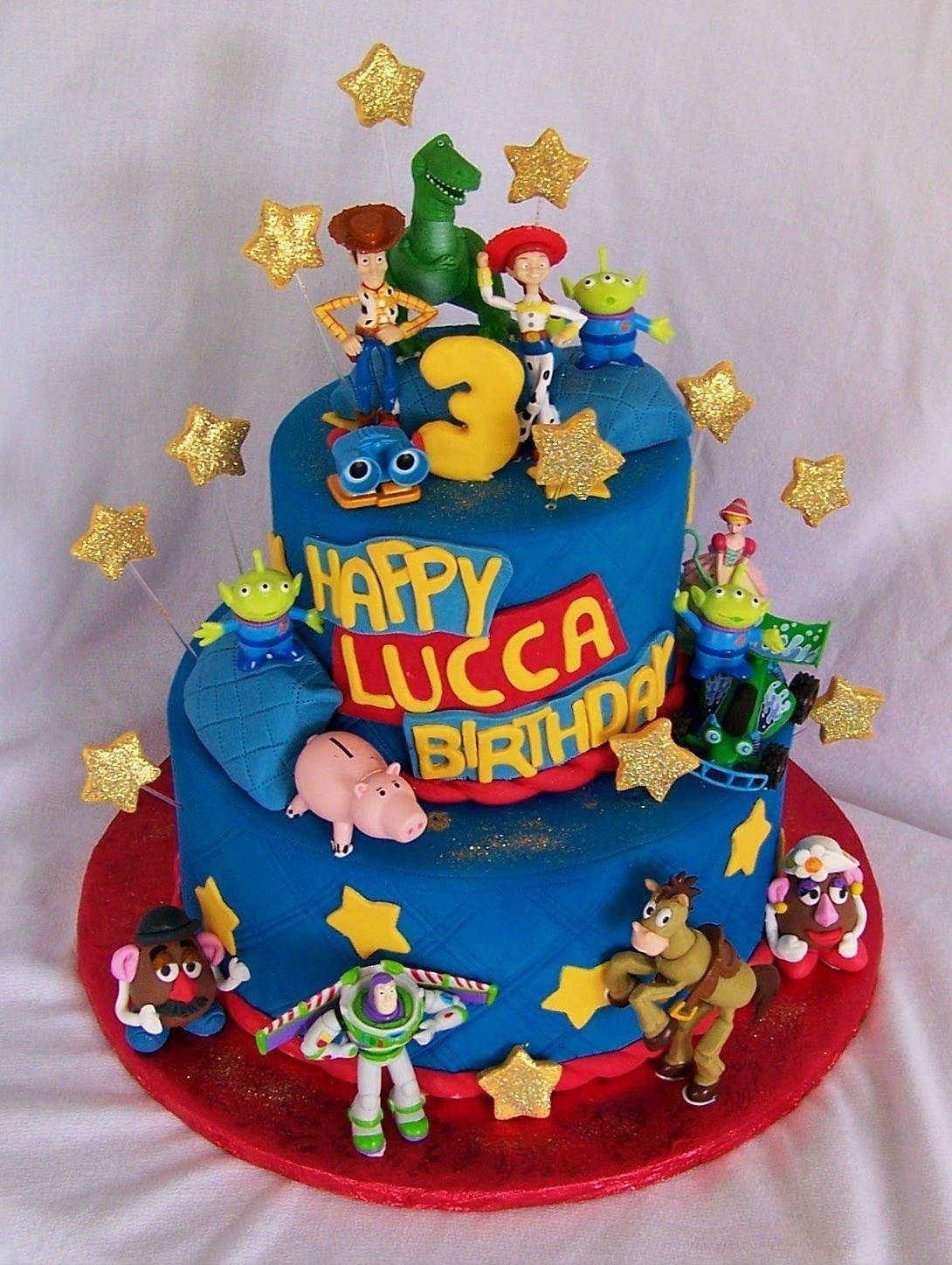 10 Spectacular Toy Story Birthday Cake Ideas pinwoodytoystorycakeaechildrensbirthdaycakeson toystory 2020