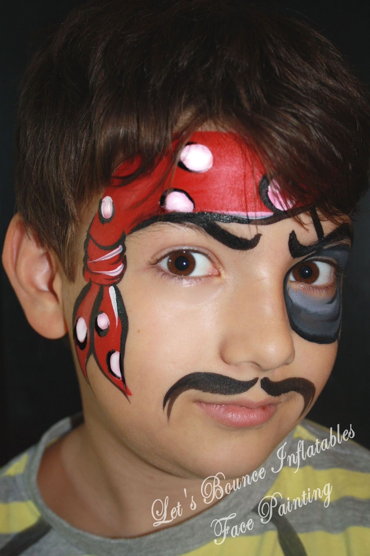 10 Attractive Face Painting Ideas For Boys pirate boys face paintinglets bounce inflatables vancouver 1