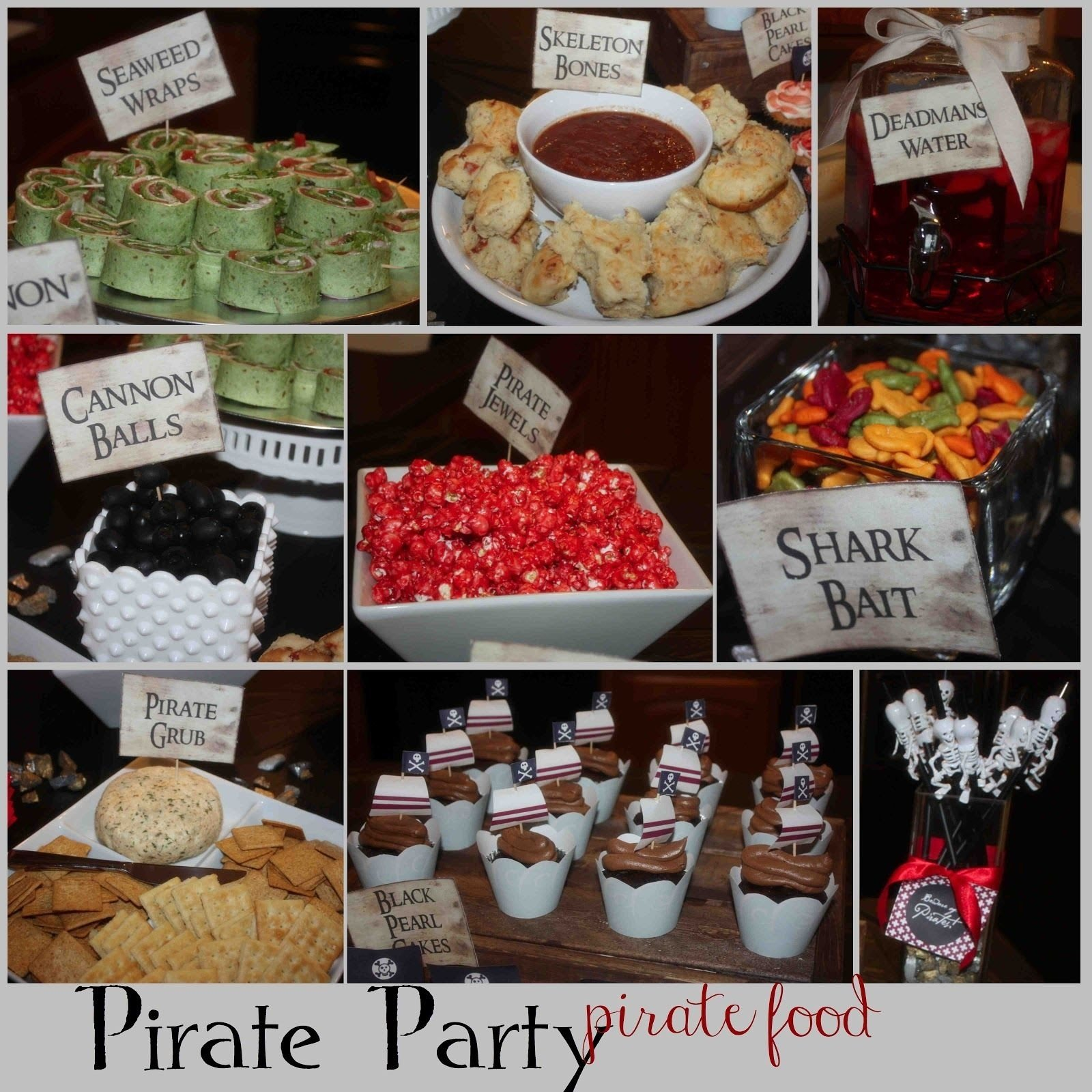 pirate party food ideas | more pirate party ideas, recipes, & fun