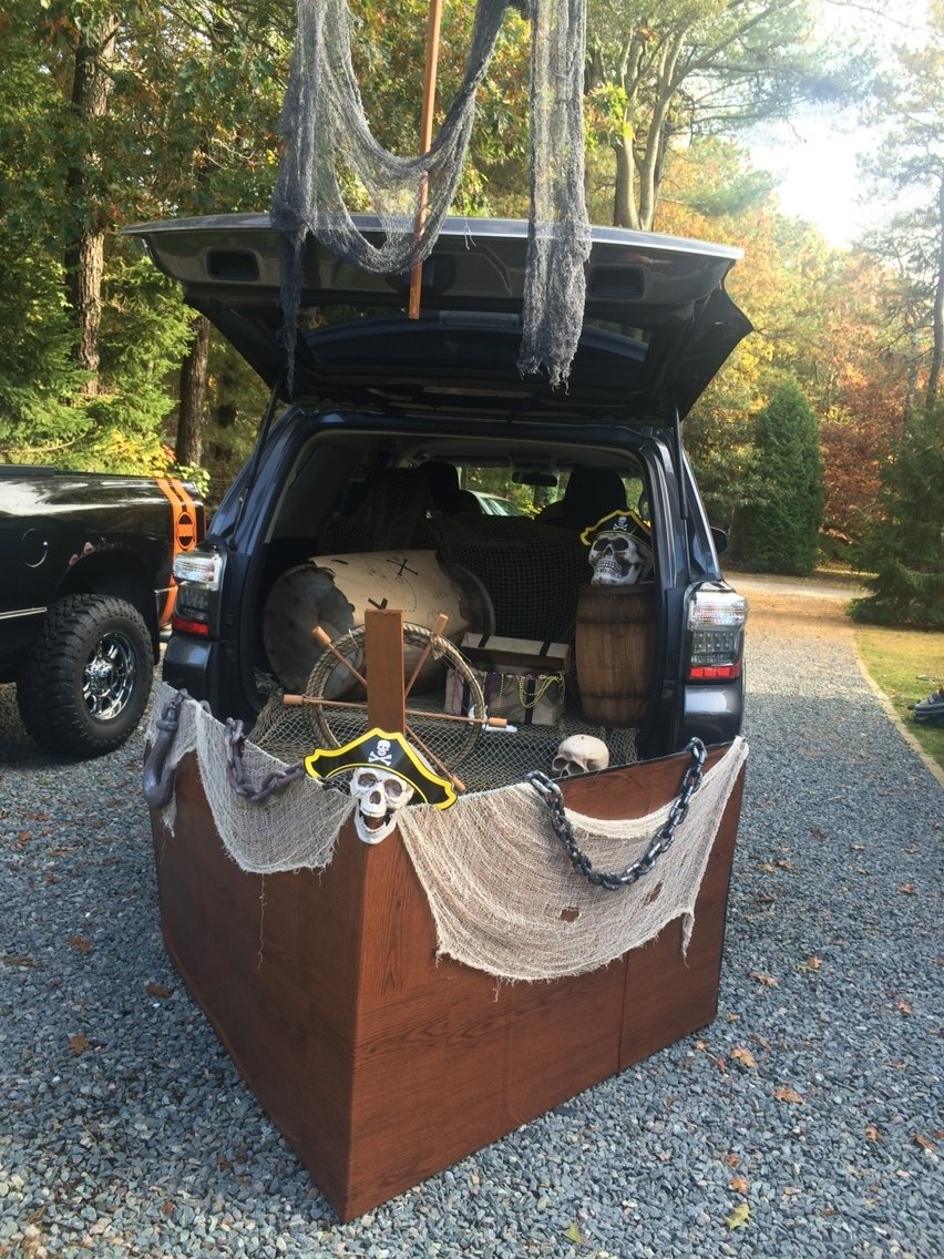 10 Attractive Biblical Trunk Or Treat Decorating Ideas pirate ship trunk or treat peterson trunk or treat pinterest 2