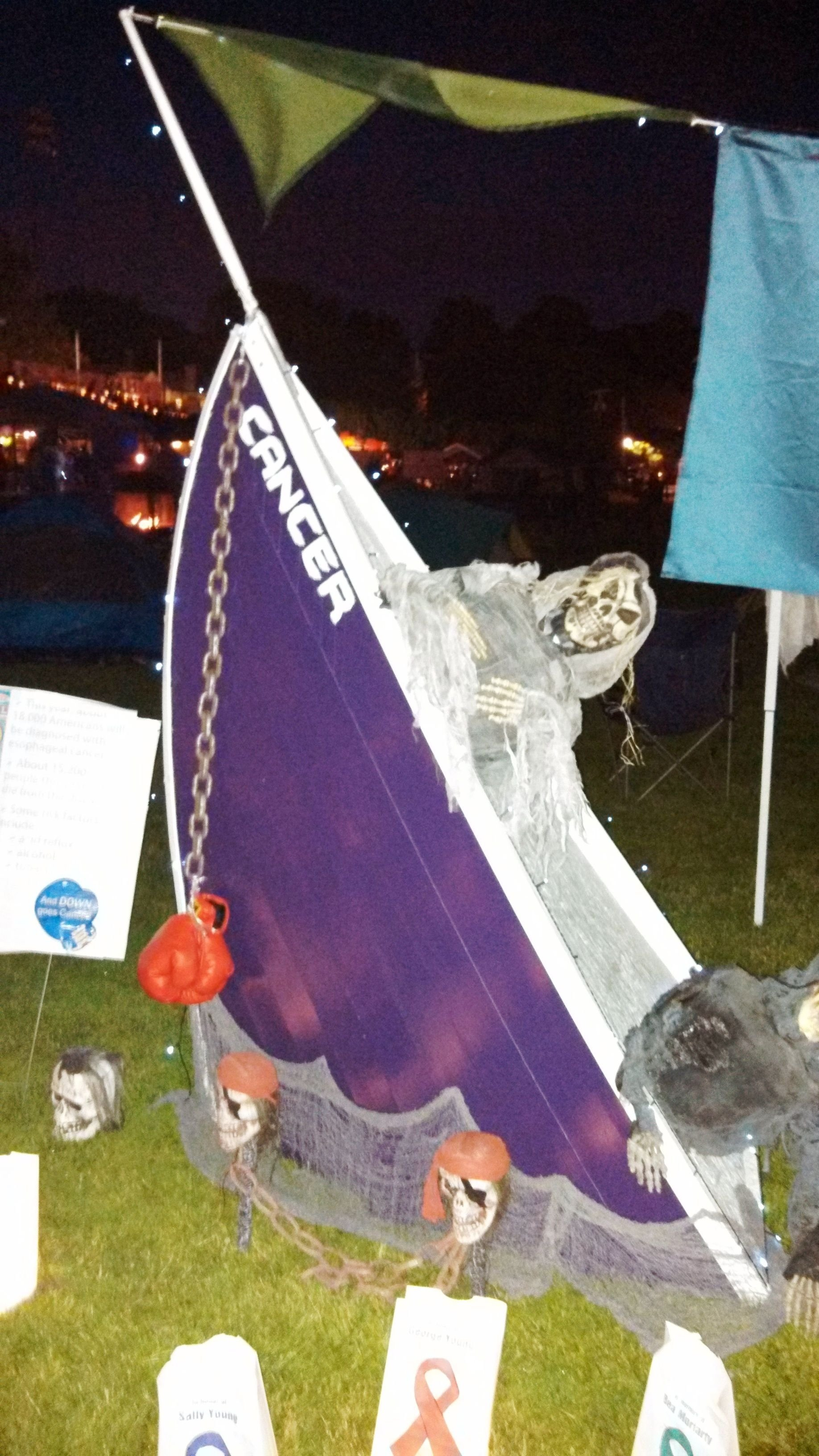 10 Perfect Relay For Life Booth Ideas pirate themed relay for life campsite with the pirate ship known as 2021