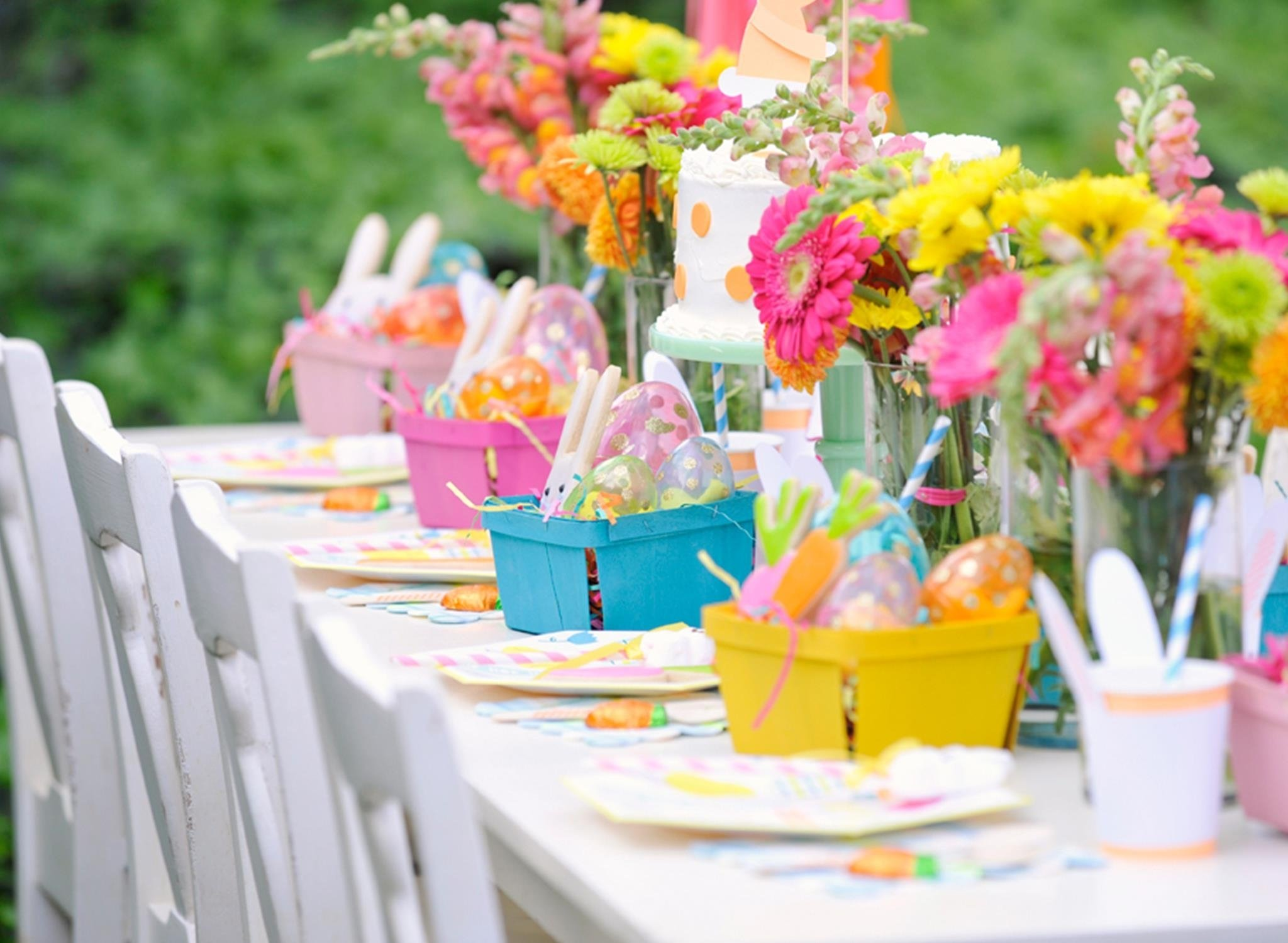 10 Lovely Spring Party Ideas For Adults plan a bunny tastic kids easter party project nursery 1 2020