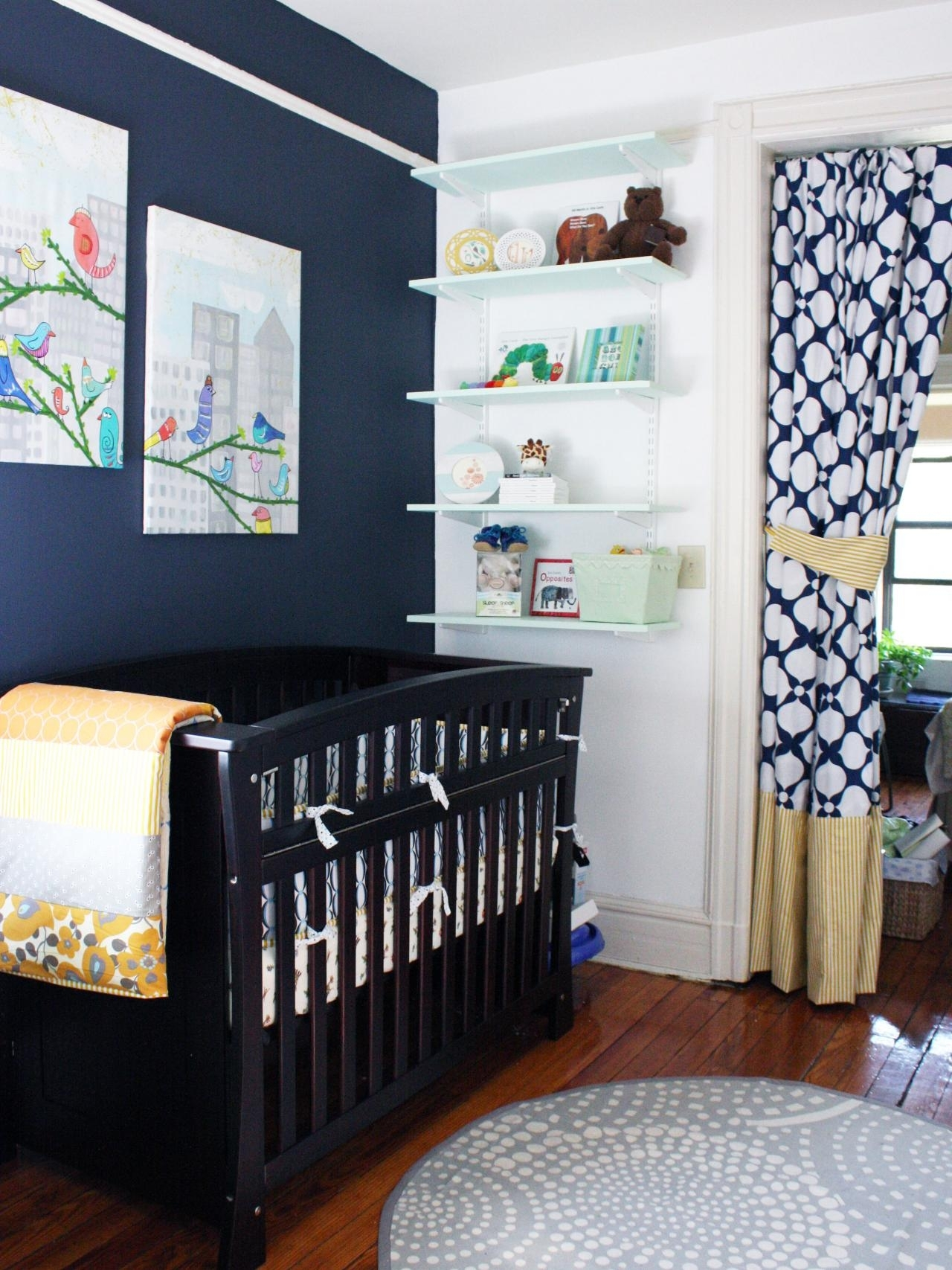 plan a small-space nursery | hgtv