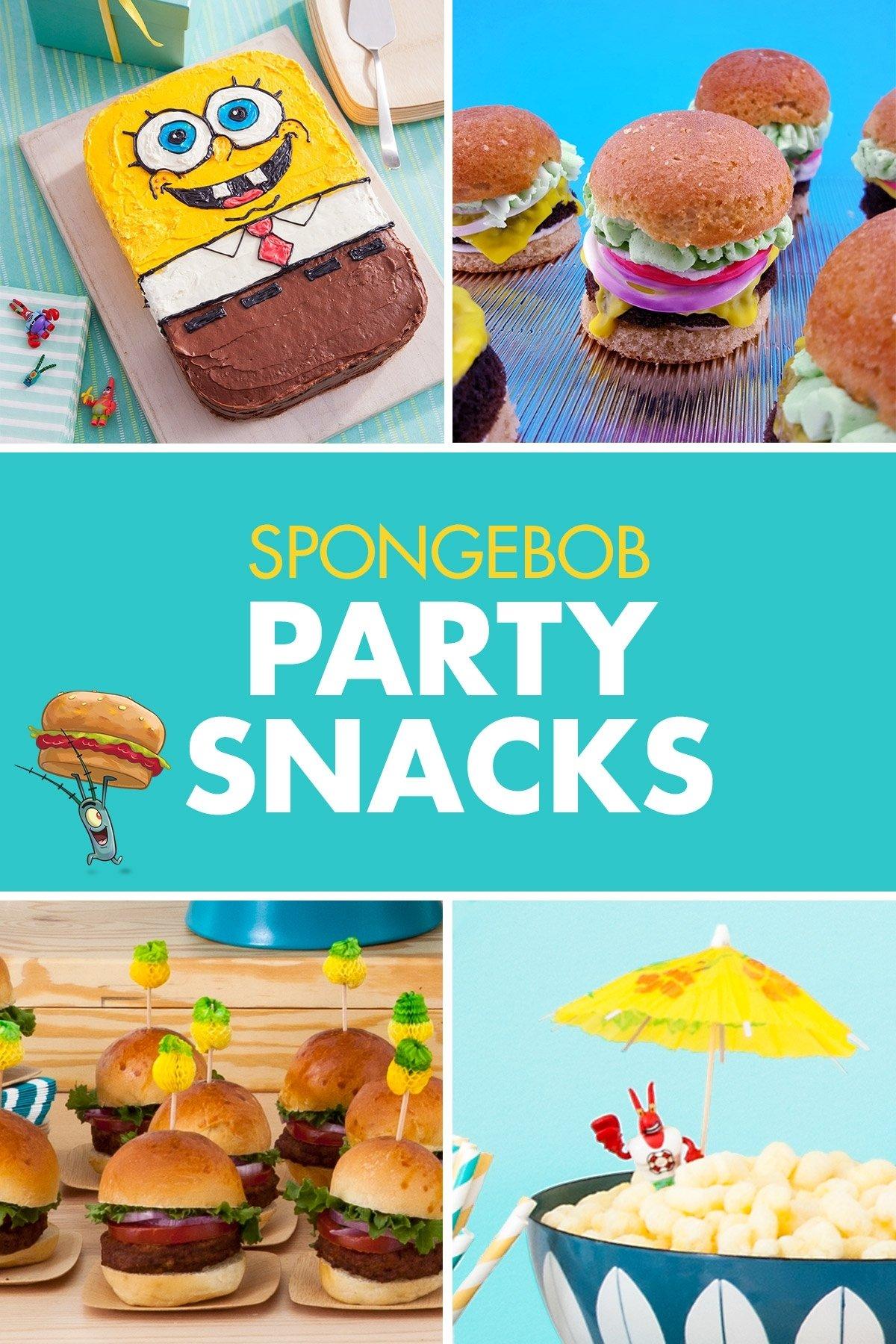10 Trendy Spongebob Birthday Party Food Ideas plan a spongebob squarepants party underwater birthday kids s and 2020