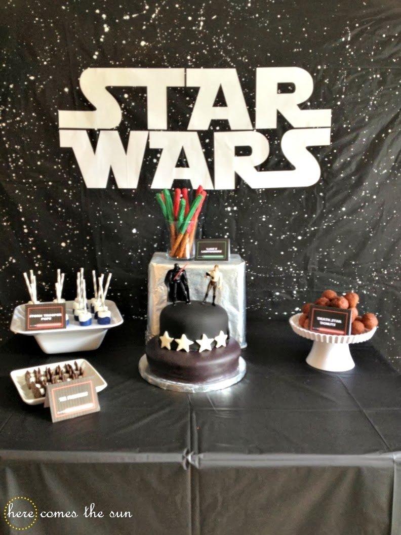 plan an amazing star wars birthday party