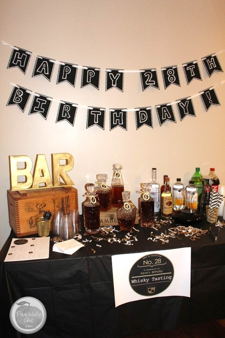 10 Stylish Birthday Party Ideas For Husband plan the ultimate guys birthday party with a fun whiskey tasting 3 2020