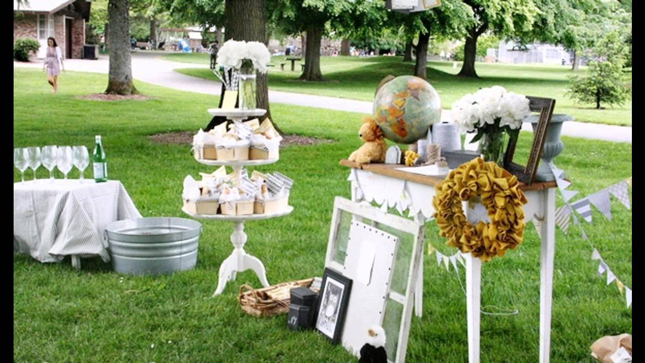 plan your outdoor baby shower decorations properly – blogbeen