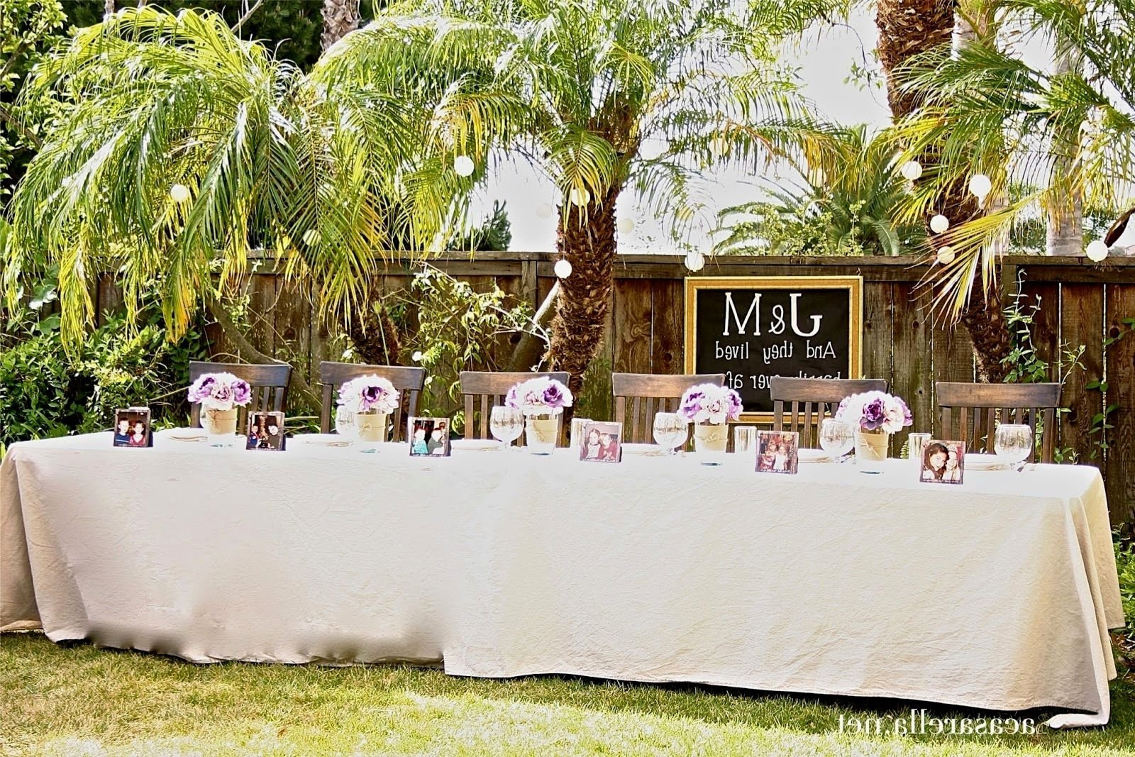 10 Cute Backyard Wedding Ideas For Summer planning a backyard wedding wedding