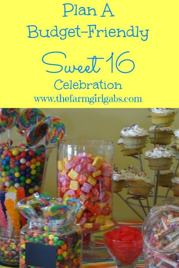 planning a budget-friendly sweet 16 celebration! | sweet 16 parties