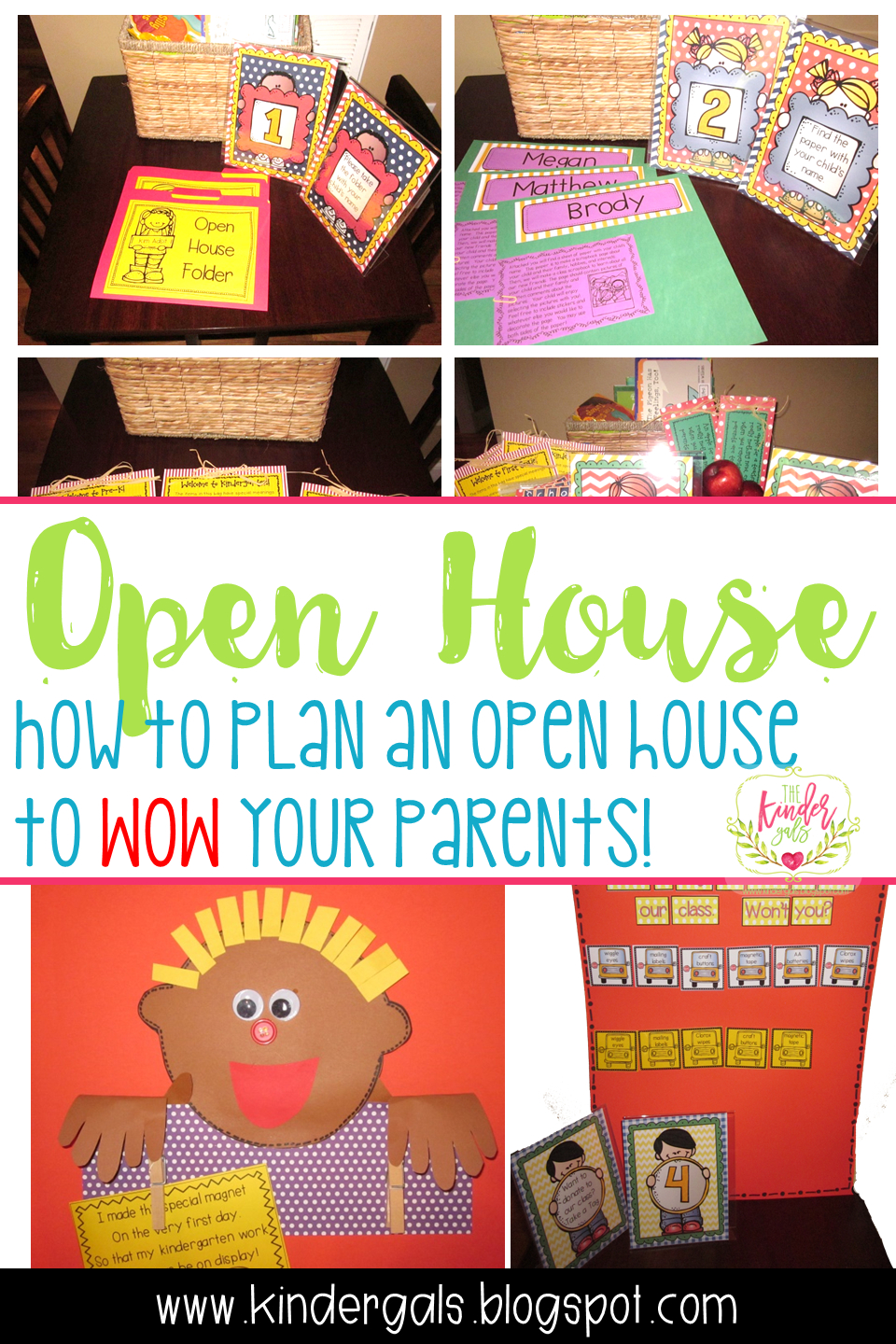 10 Lovely Kindergarten Back To School Night Ideas planning an open house to wow your parents kindergals preschool 2020