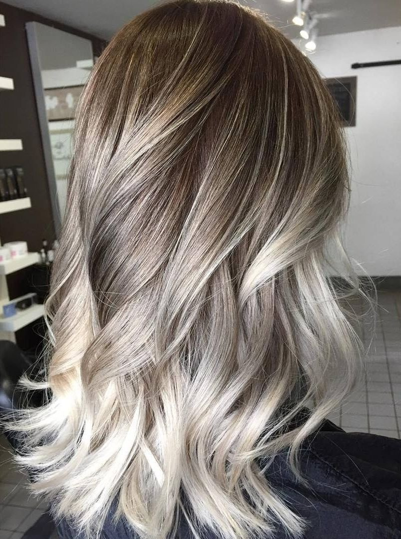 10 Attractive Brown & Blonde Hair Color Ideas platinum blonde highlights on dark blonde hair 60 balayage hair 4 2021