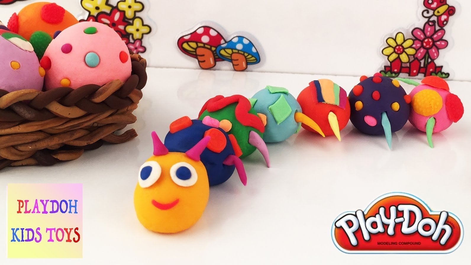play doh kids fun crafts, animals playdough learning activities