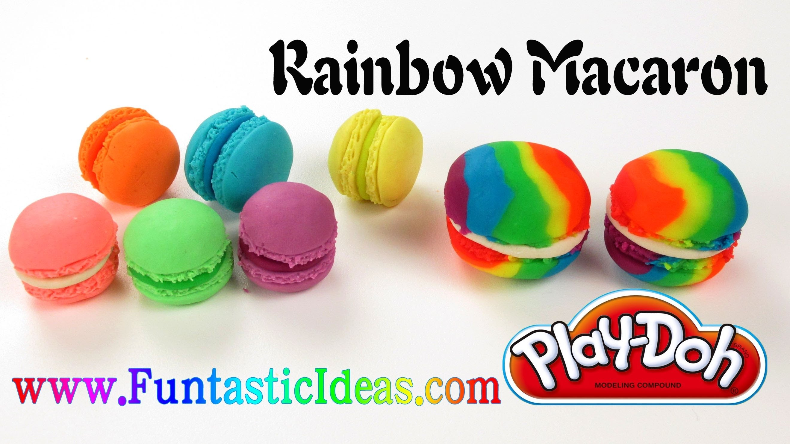 10 Wonderful Play Doh Ideas For Kids play doh rainbow macaron how to with playdough easy fun idea for 2021