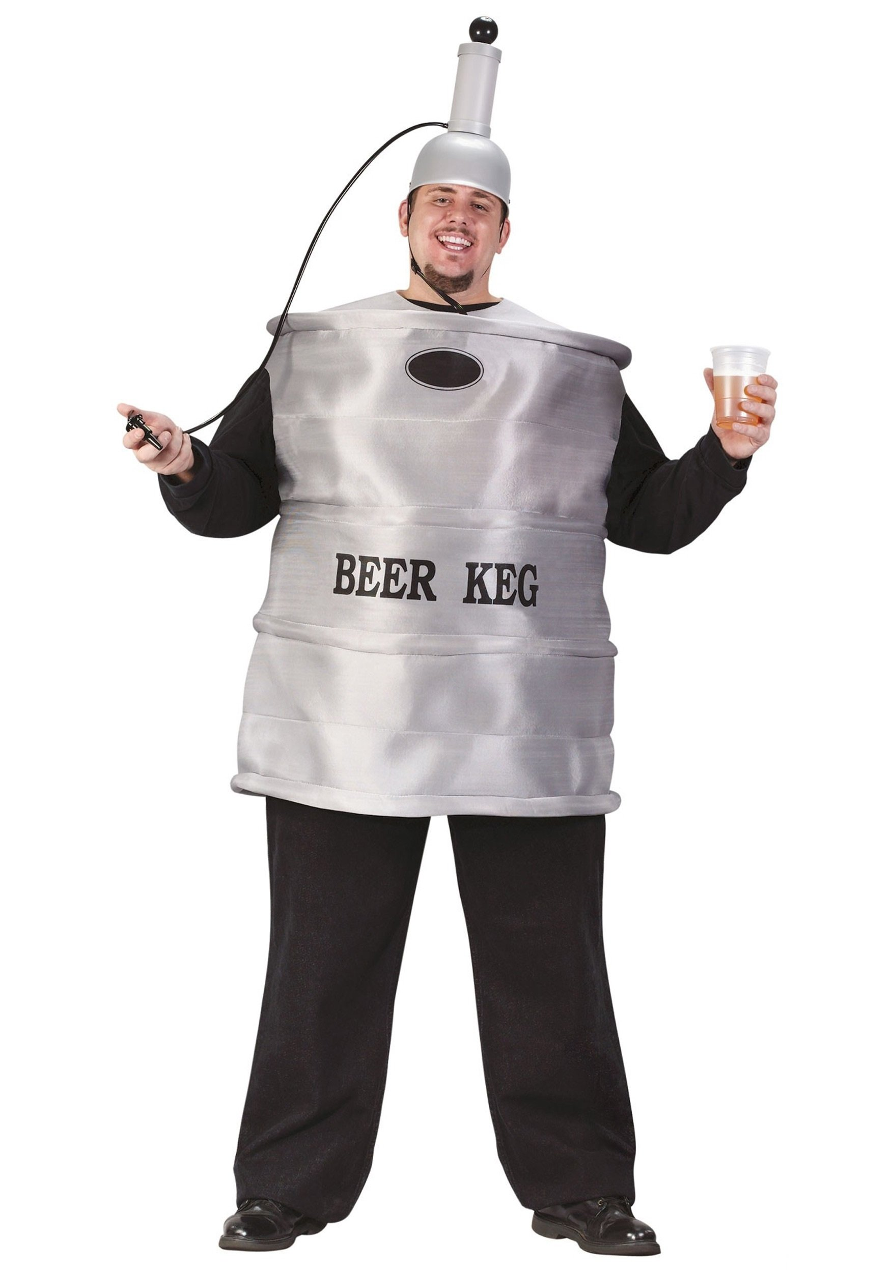 10 Perfect Around The World Party Costume Ideas plus size beer keg costume