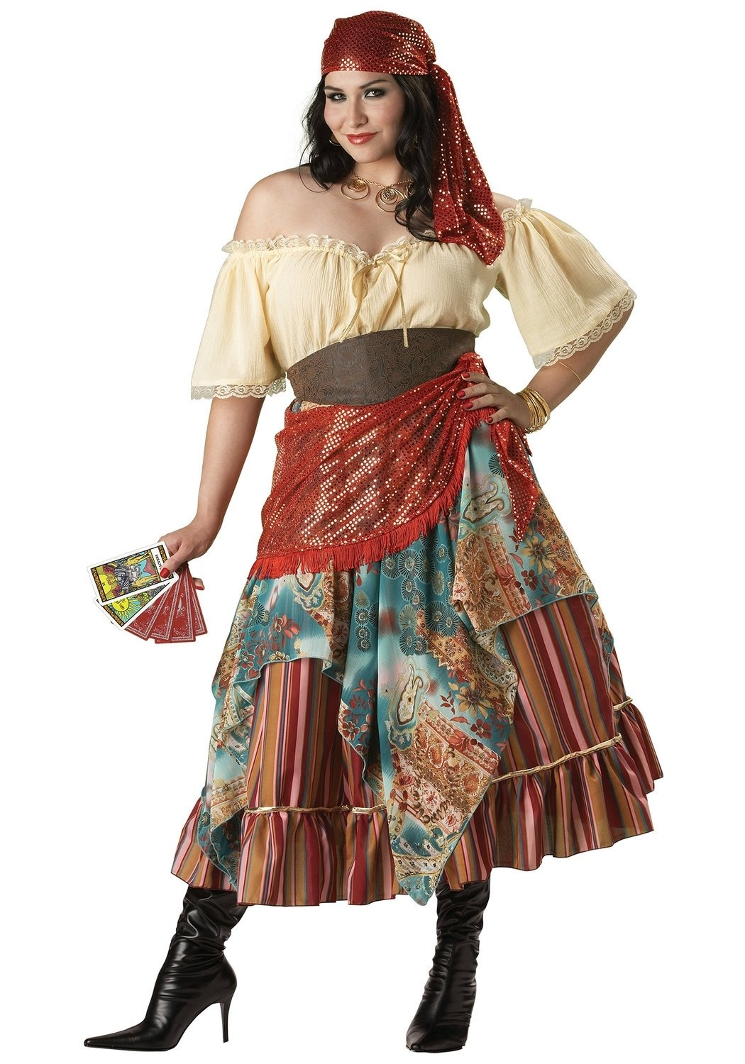 woman dressed as a gypsy source gypsy halloween costume diy halloween costumes