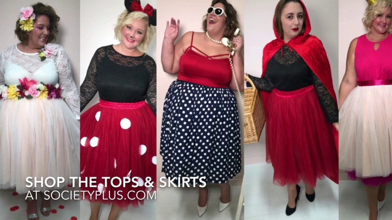 10 Pretty Homemade Plus Size Costume Ideas plus size diy halloween costume ideas look book youtube 2020