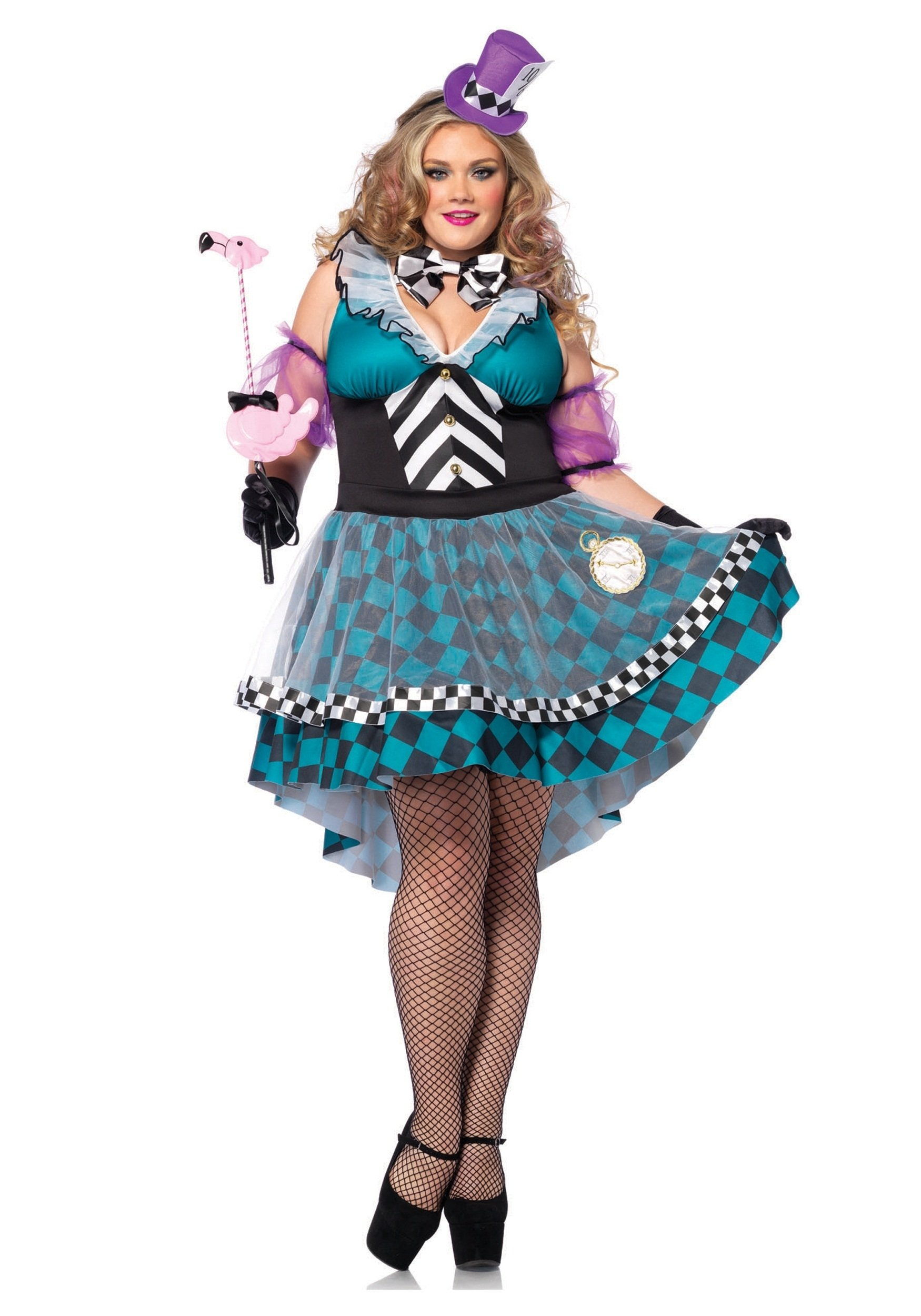 10 Perfect Female Mad Hatter Costume Ideas plus size manic mad hatter costume 2020