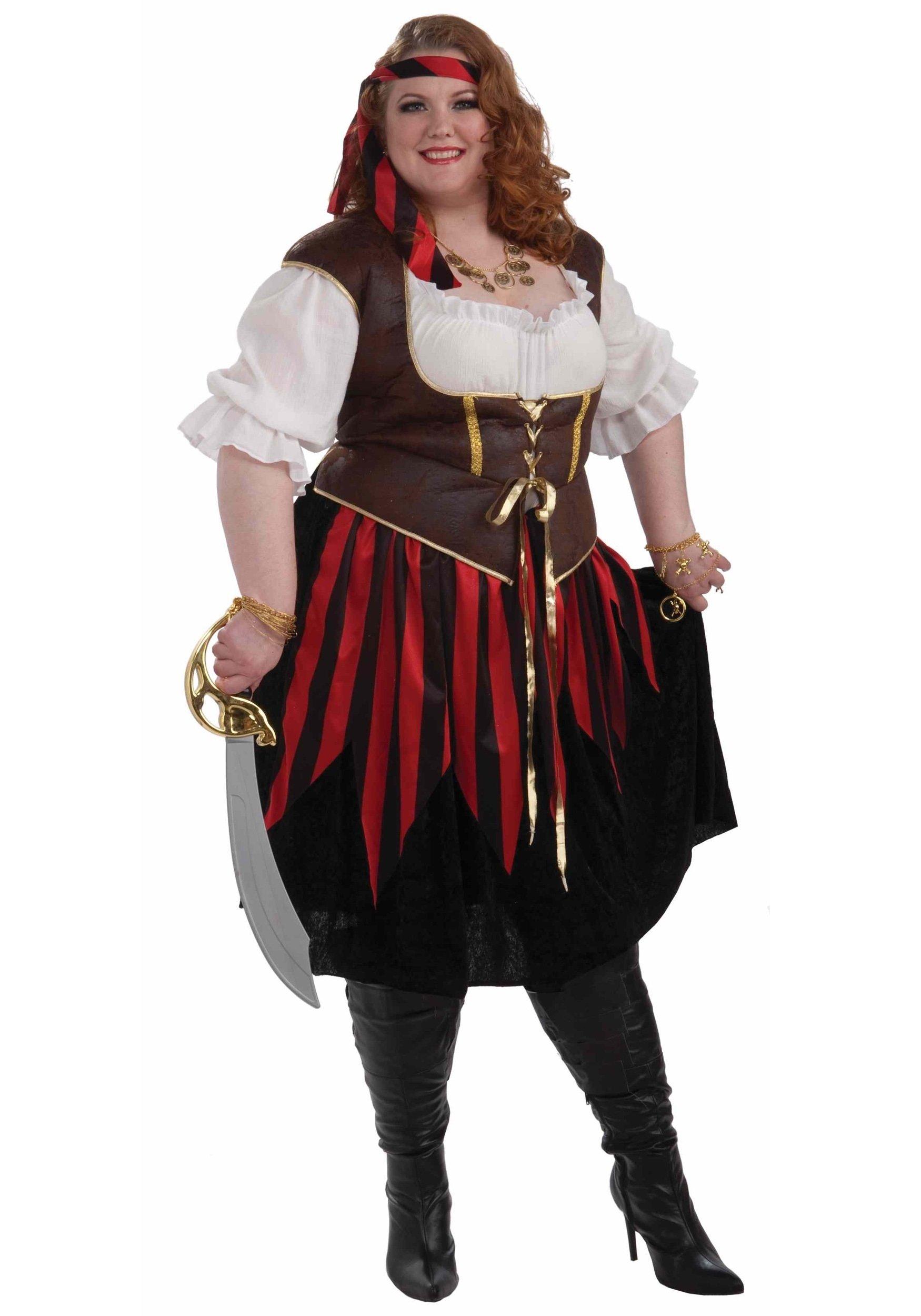 10 Cute Plus Size Halloween Costumes Ideas plus size pirate lady costume plus size pirate wench costume 2020