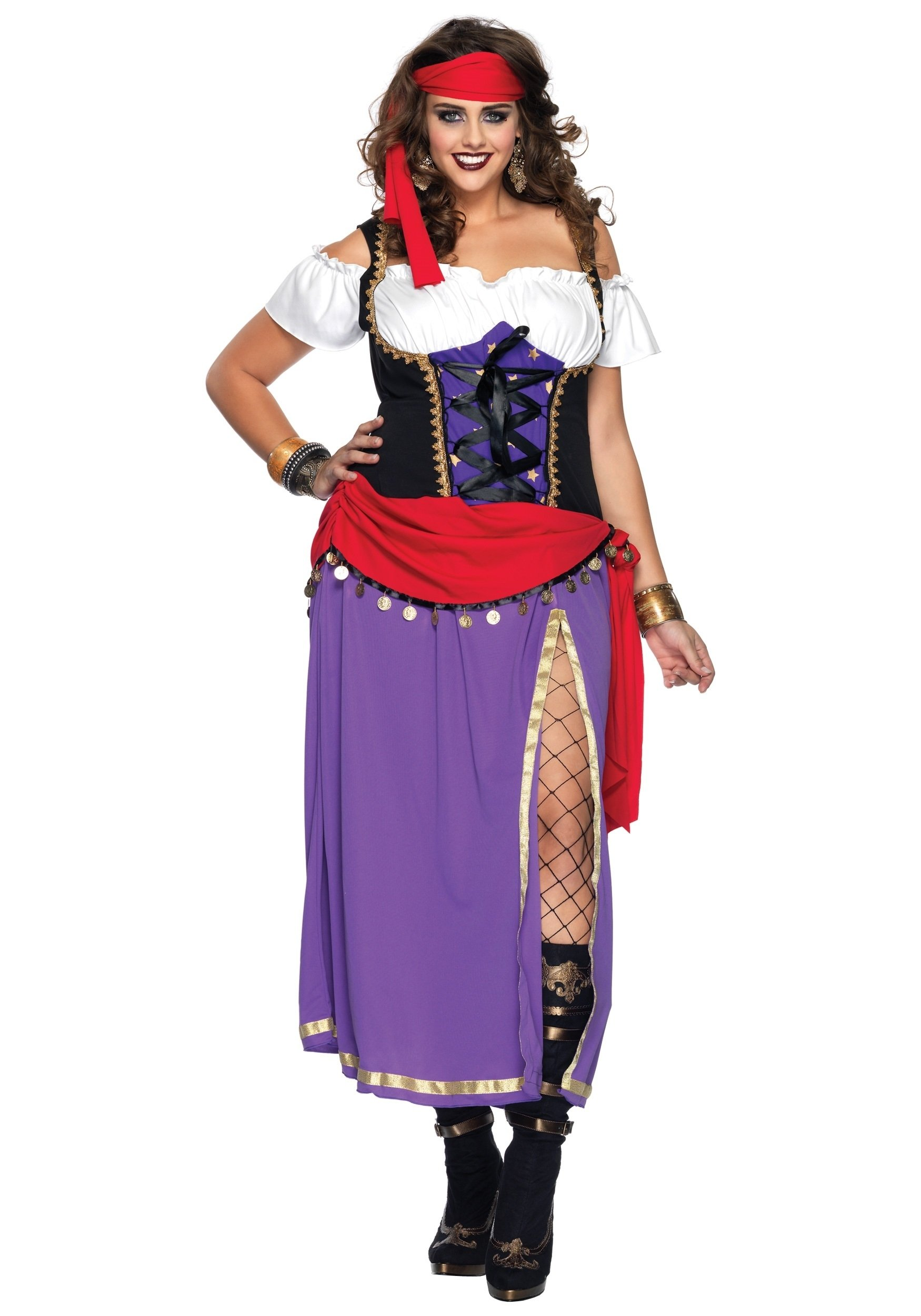 10 Cute Plus Size Halloween Costumes Ideas plus traveling gypsy costume 2020