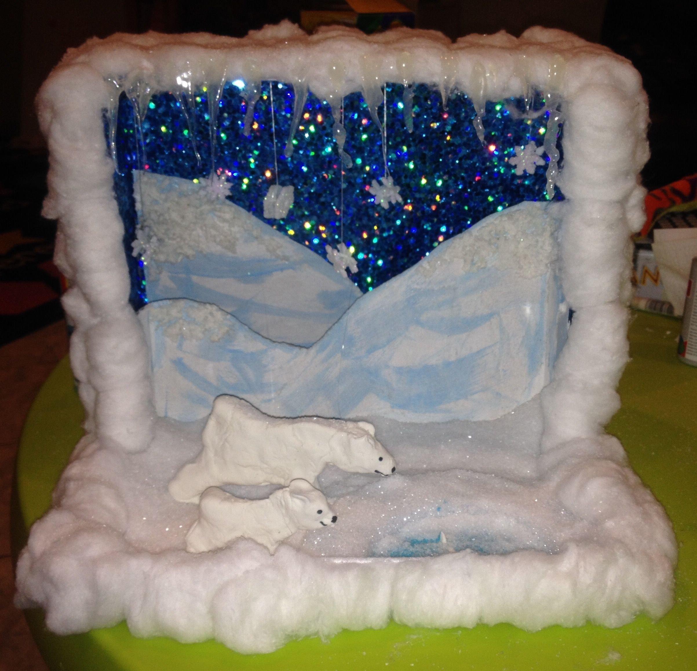 10 Stylish Science Projects Ideas For Kids polar bear diorama kids pinterest dioramas polar bear and bears 2020