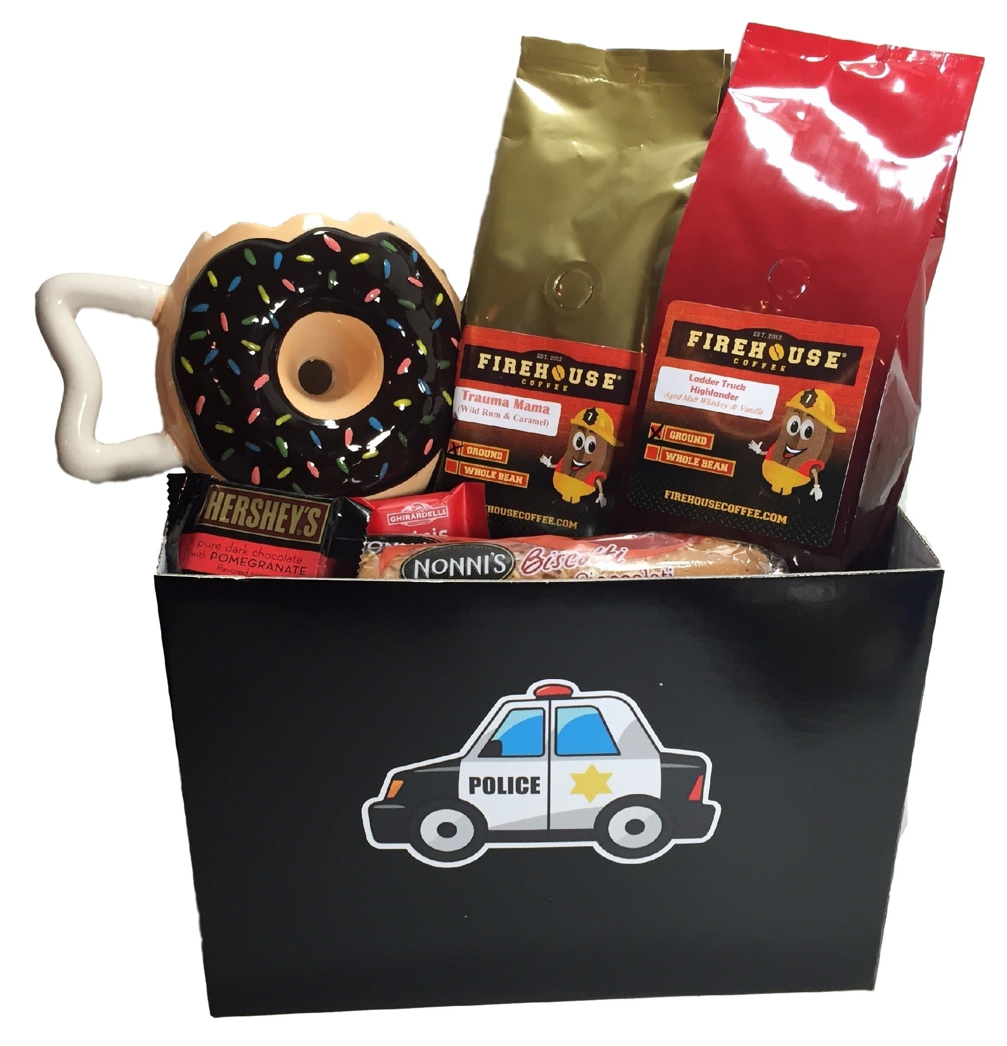 10 Lovable Gift Ideas For Police Officers police officer gift ideas gift basket appreciation for police 2020