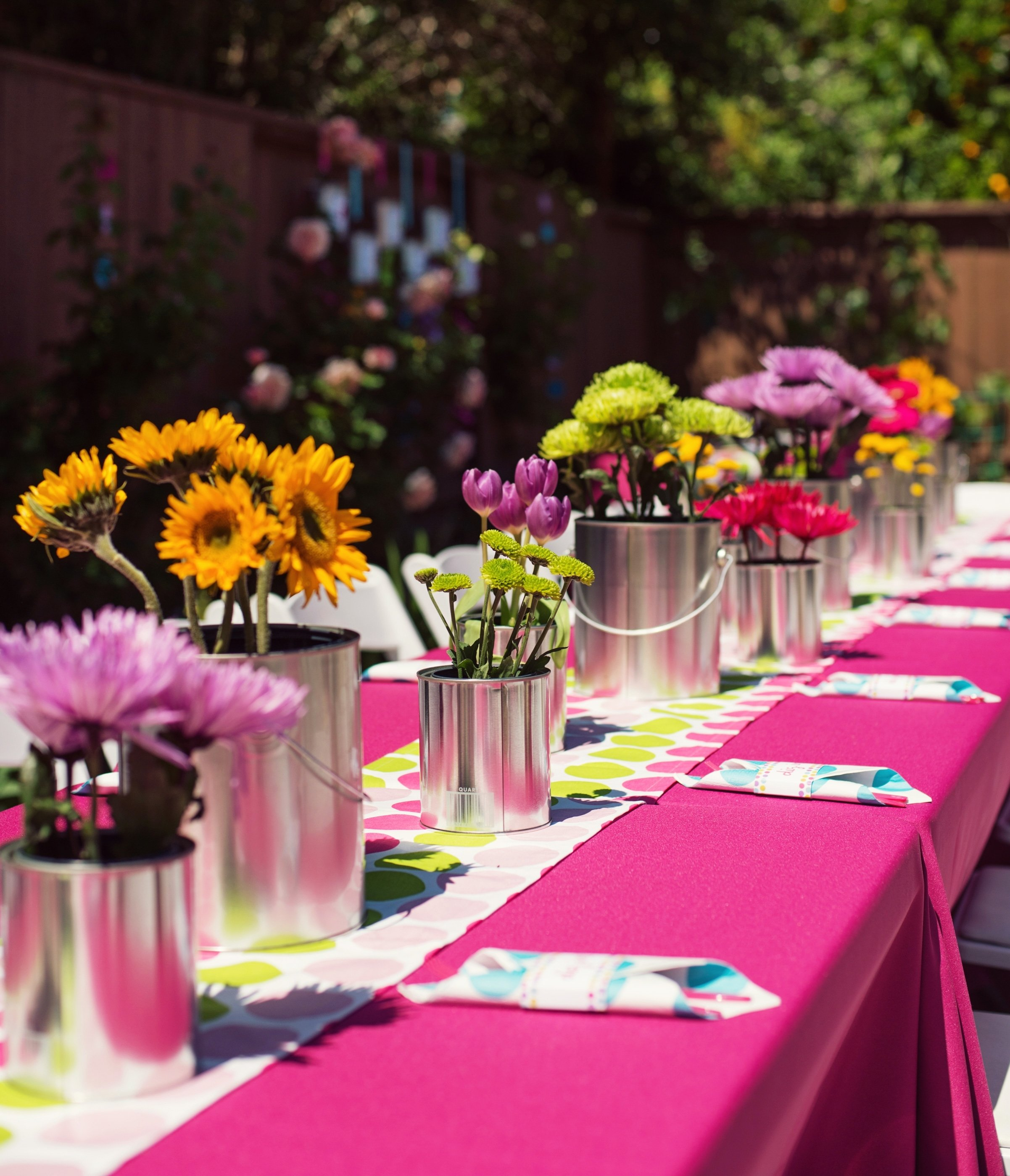 10 Attractive Party Decoration Ideas For Adults polka dot rainbow paint themed birthday party hostess with the 2020