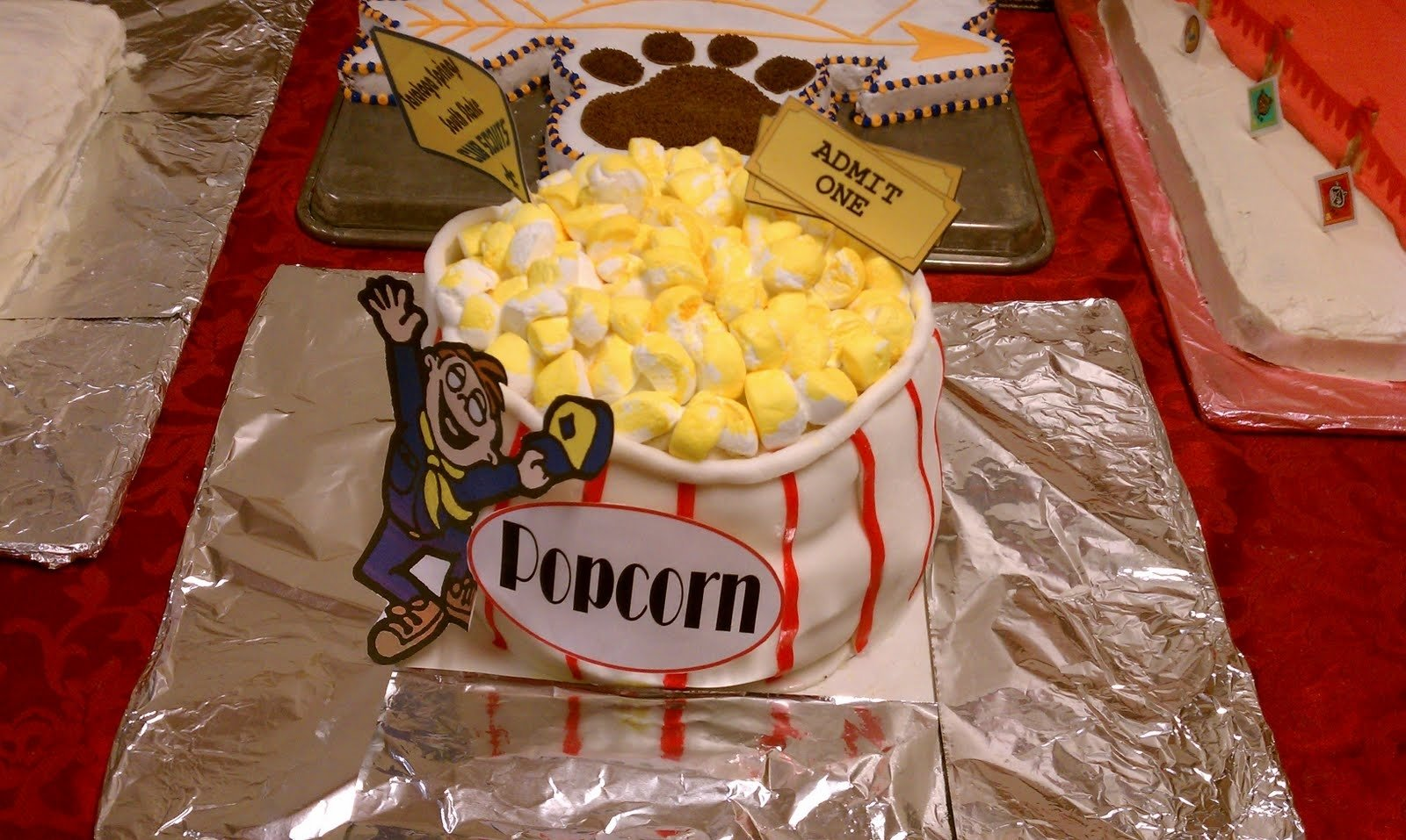 10 Cute Cub Scout Cake Decorating Ideas pony express district cub scouts cake decorating contest 2020