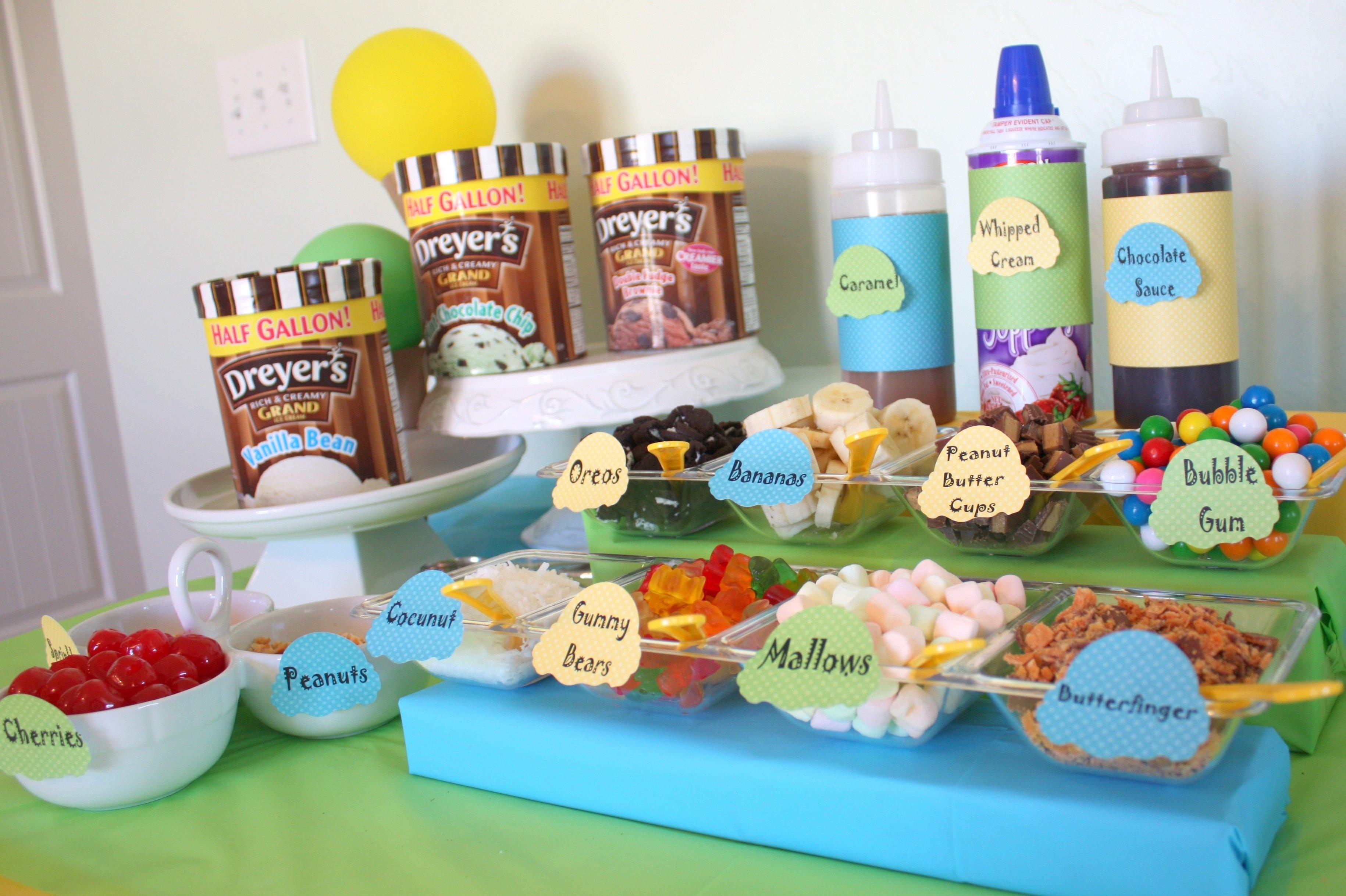 10 Beautiful Ice Cream Sundae Bar Ideas pool coffee ice cream bars neurotic baker to mind ice cream sundae 2020