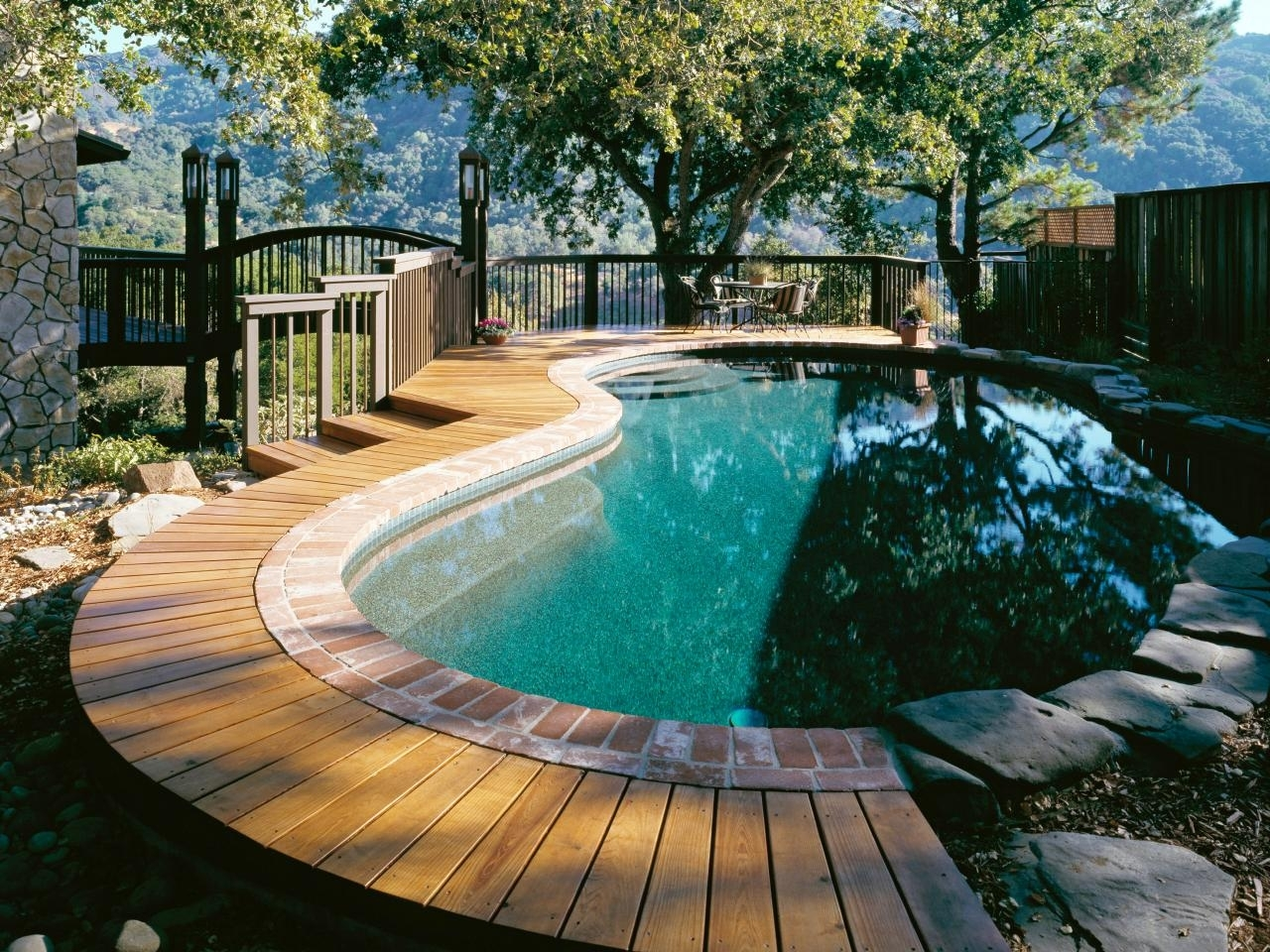 10 Pretty Above Ground Pool Deck Ideas Pictures %name