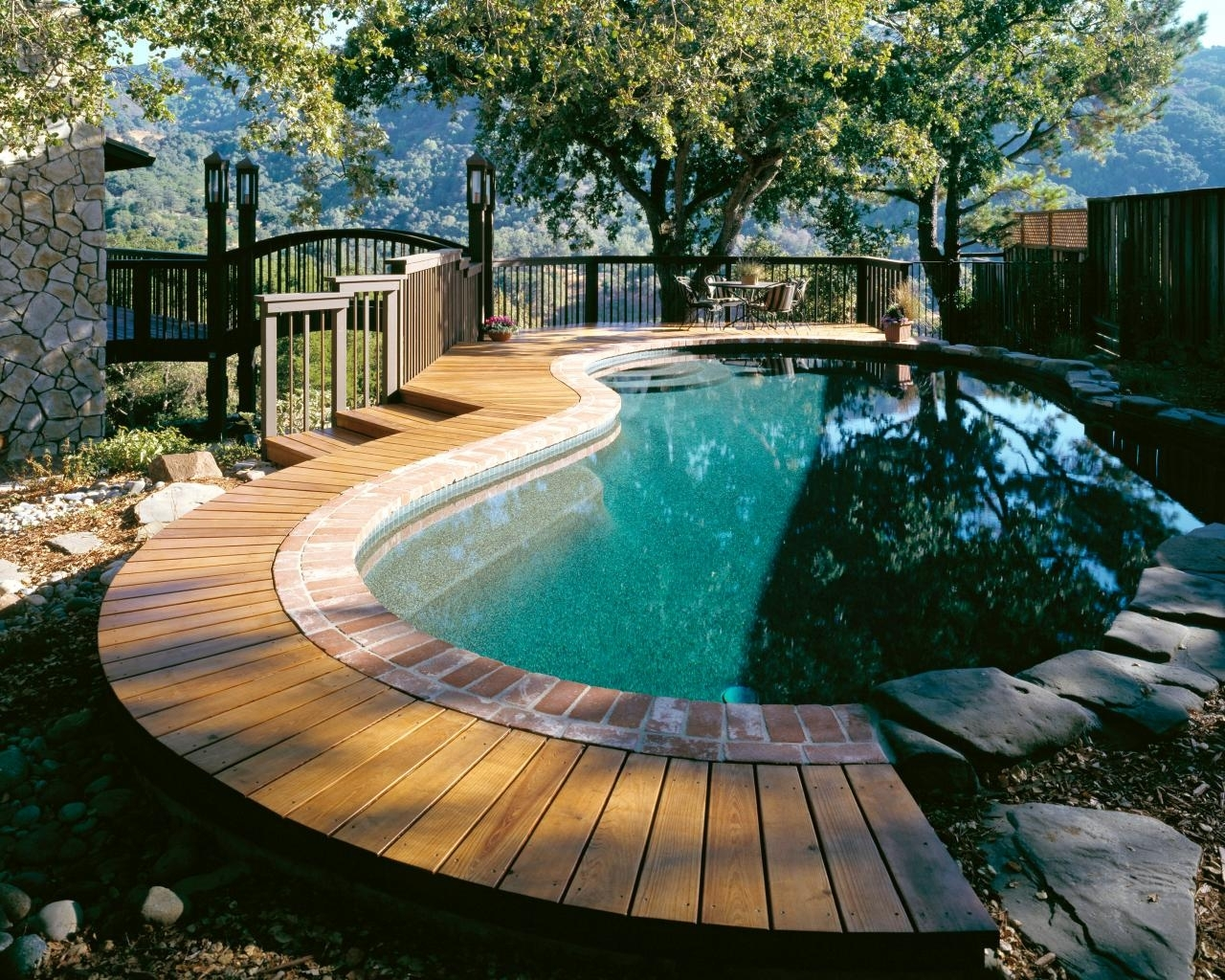 pool deck designs and options | diy