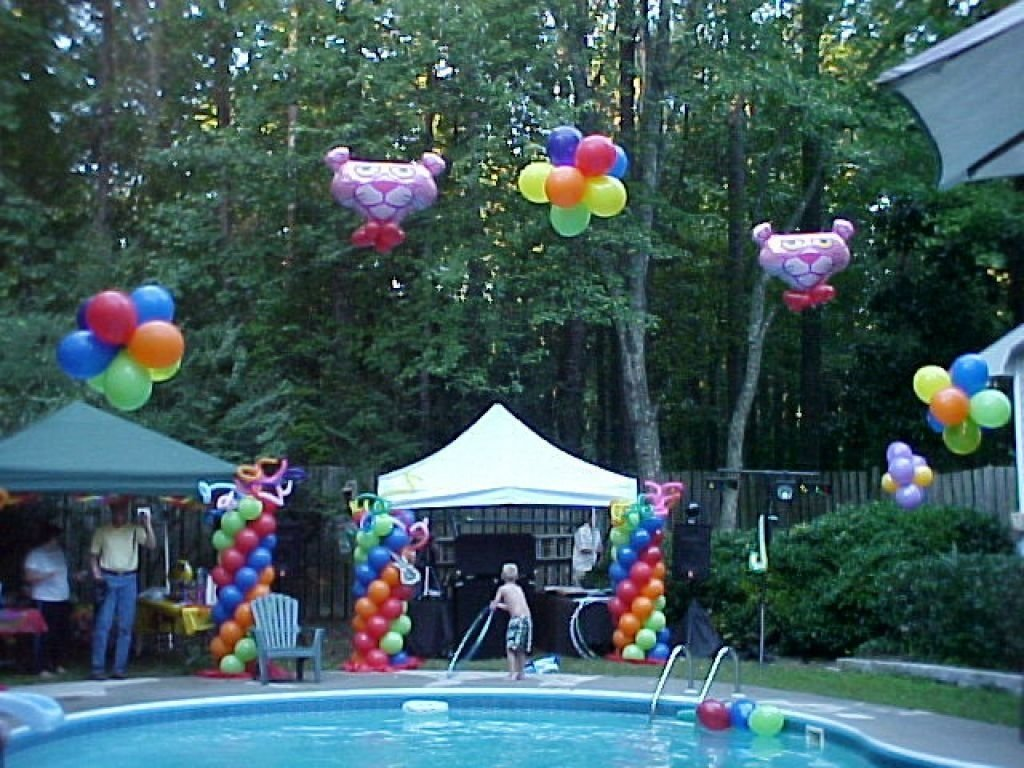 10 Wonderful Sweet 16 Pool Party Ideas For Teen Themes Du