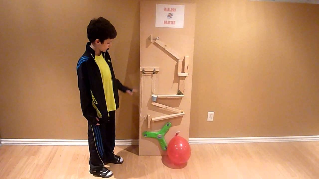 10 Stunning Simple Rube Goldberg Machine Ideas pop a balloon rube goldberg machine mts youtube 2020