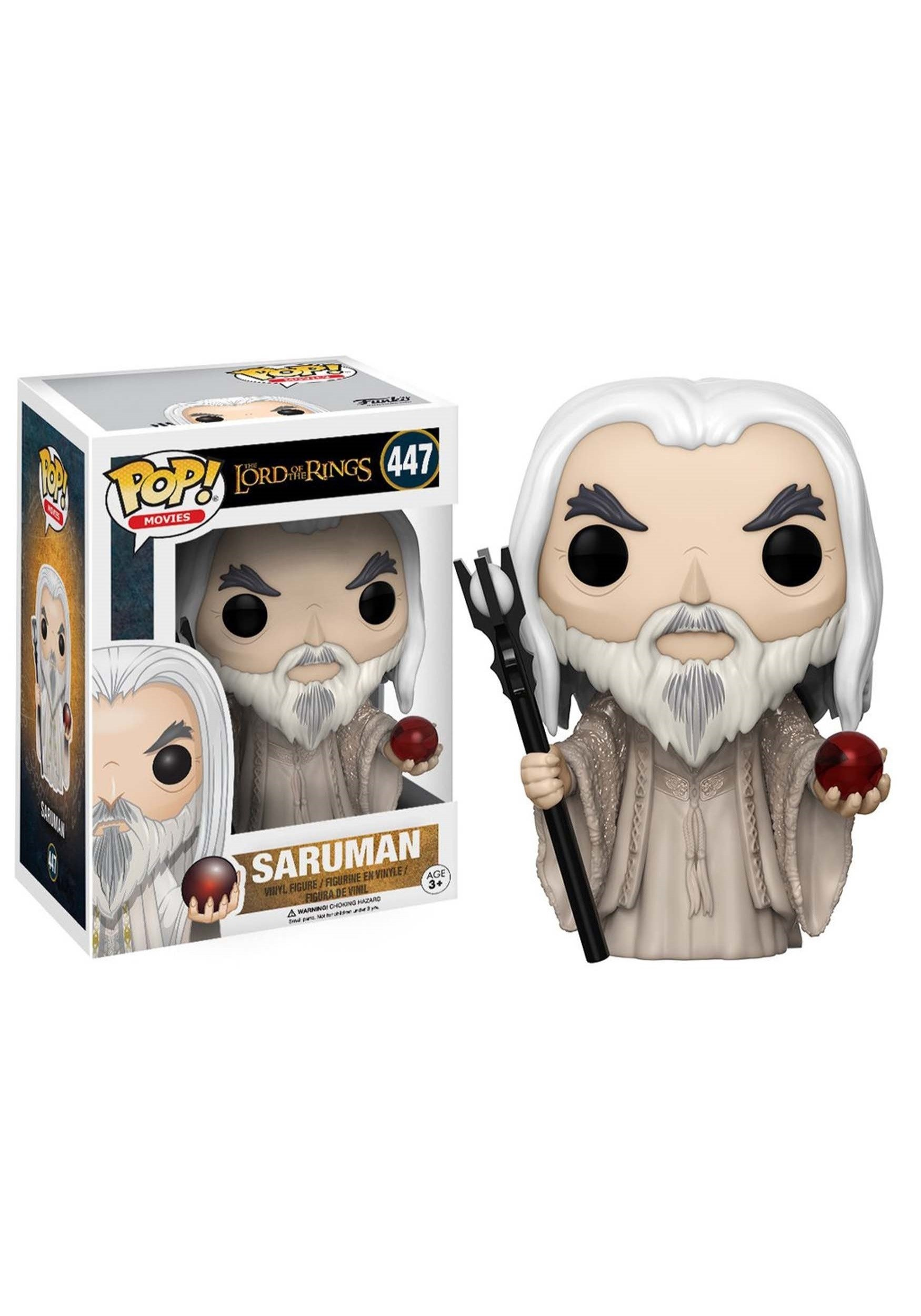 10 Lovely Lord Of The Rings Gift Ideas pop movies lotr hobbit saruman vinyl figure 2021