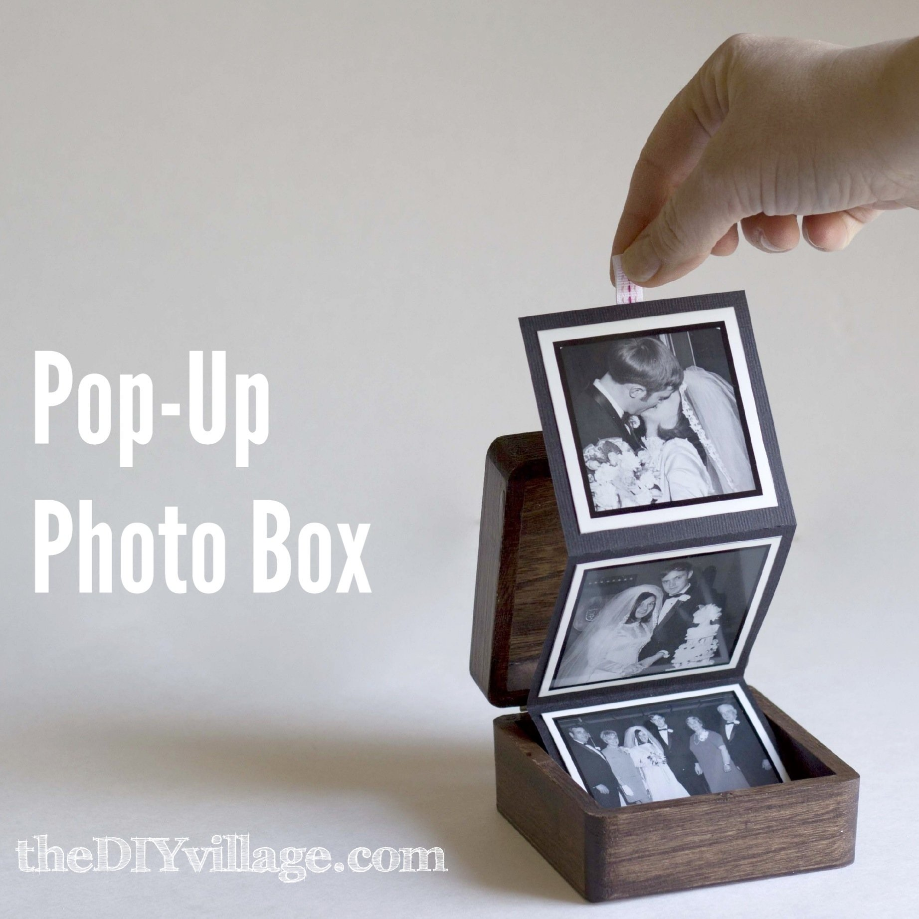 10 Elegant Cool Gift Ideas For Girlfriend pop up photo box gift idea the diy village