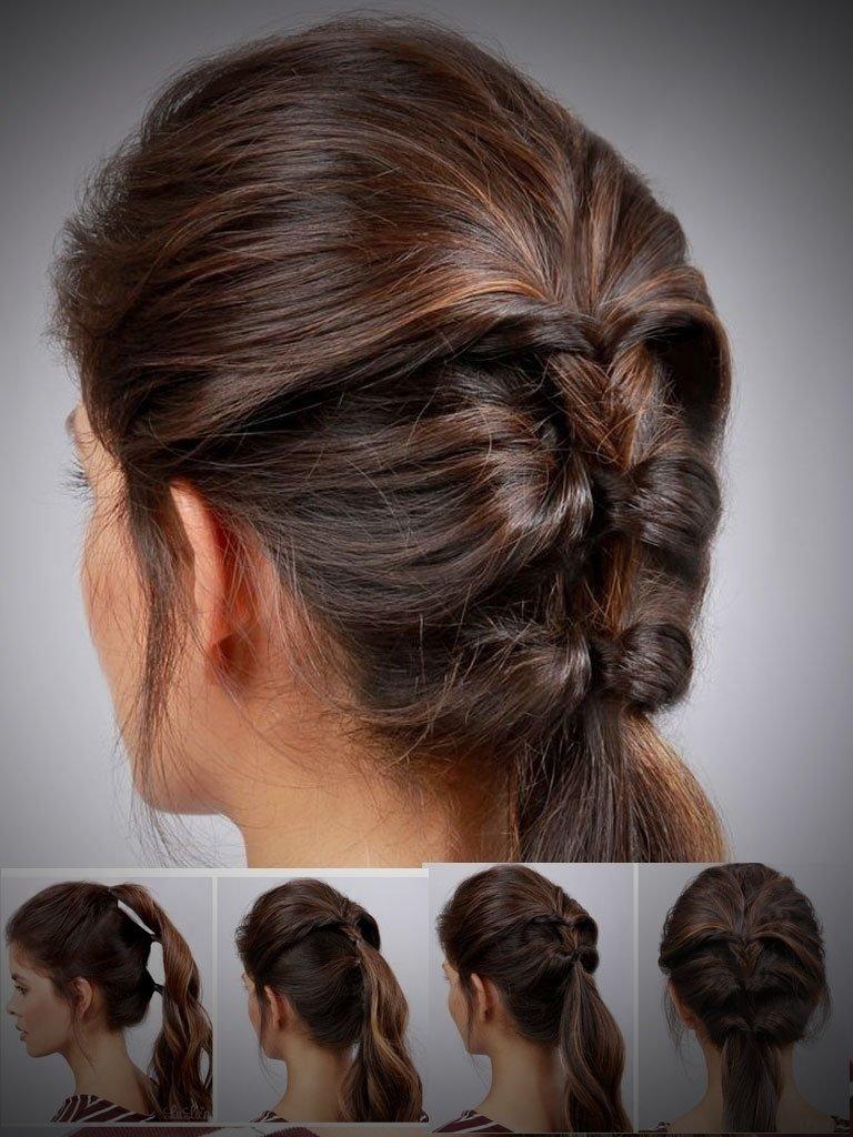 10 Unique Ponytail Ideas For Short Hair popular ponytail hairstyles ponytail hairstyles for short hair 2021