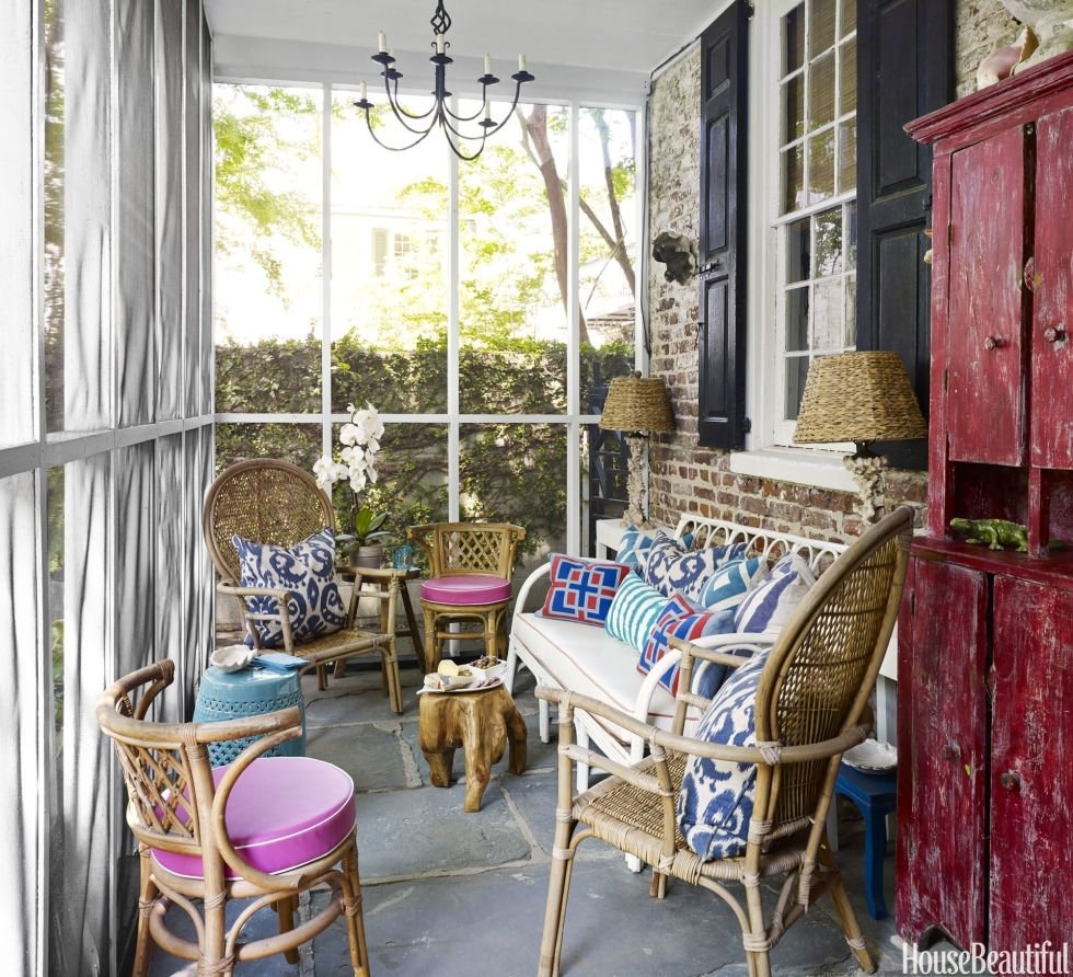 10 Unique Screened In Porch Decorating Ideas porch decorating ideas on a budget best home design ideas sondos 2020