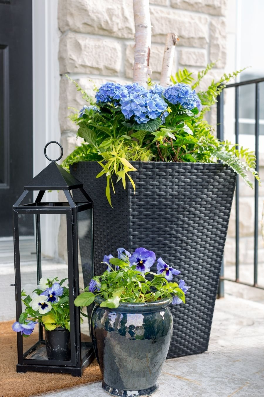 porch planter ideas and inspiration | outdoor spaces, porch and planters