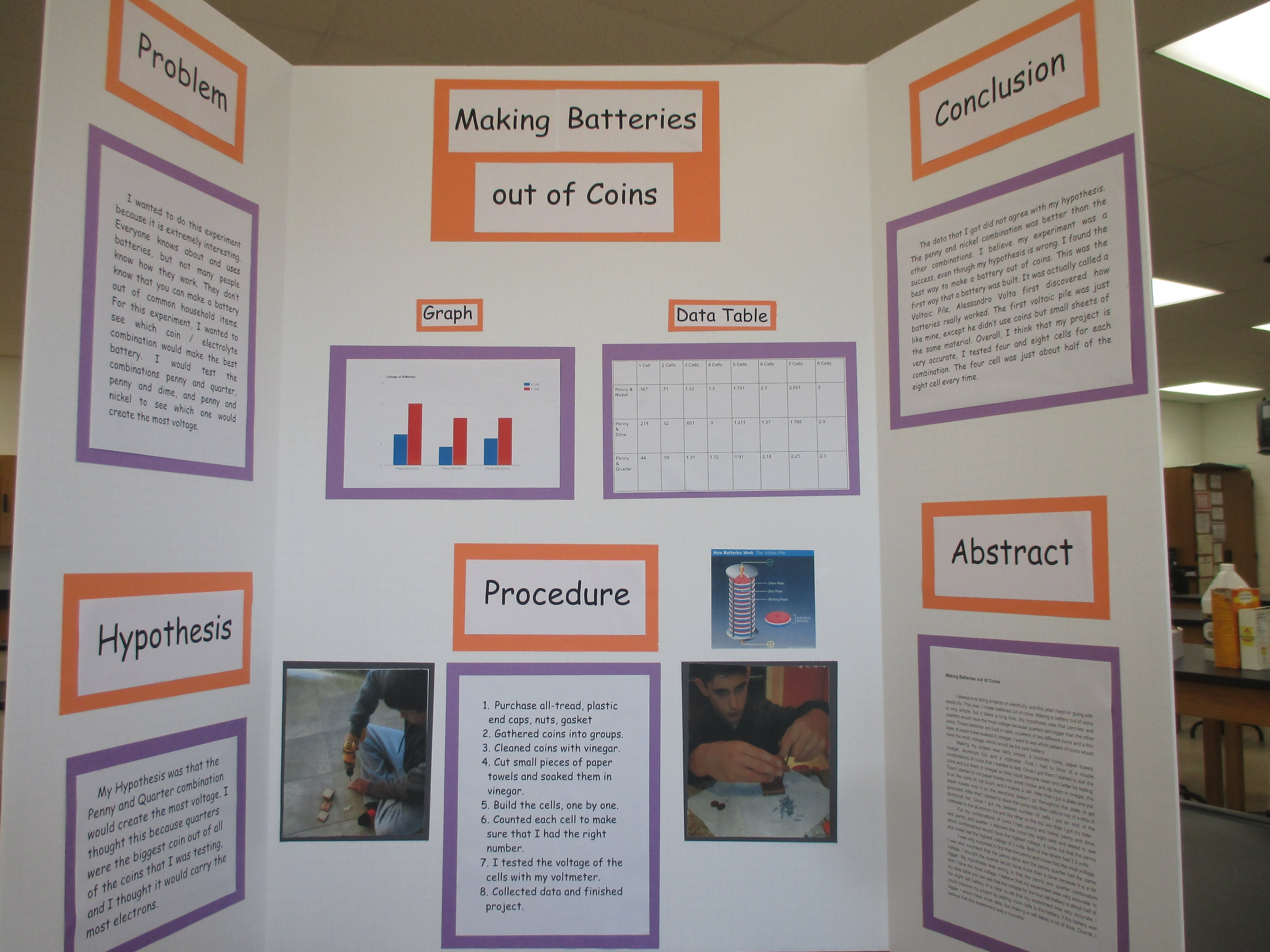 10 Awesome Science Fair Poster Board Ideas
